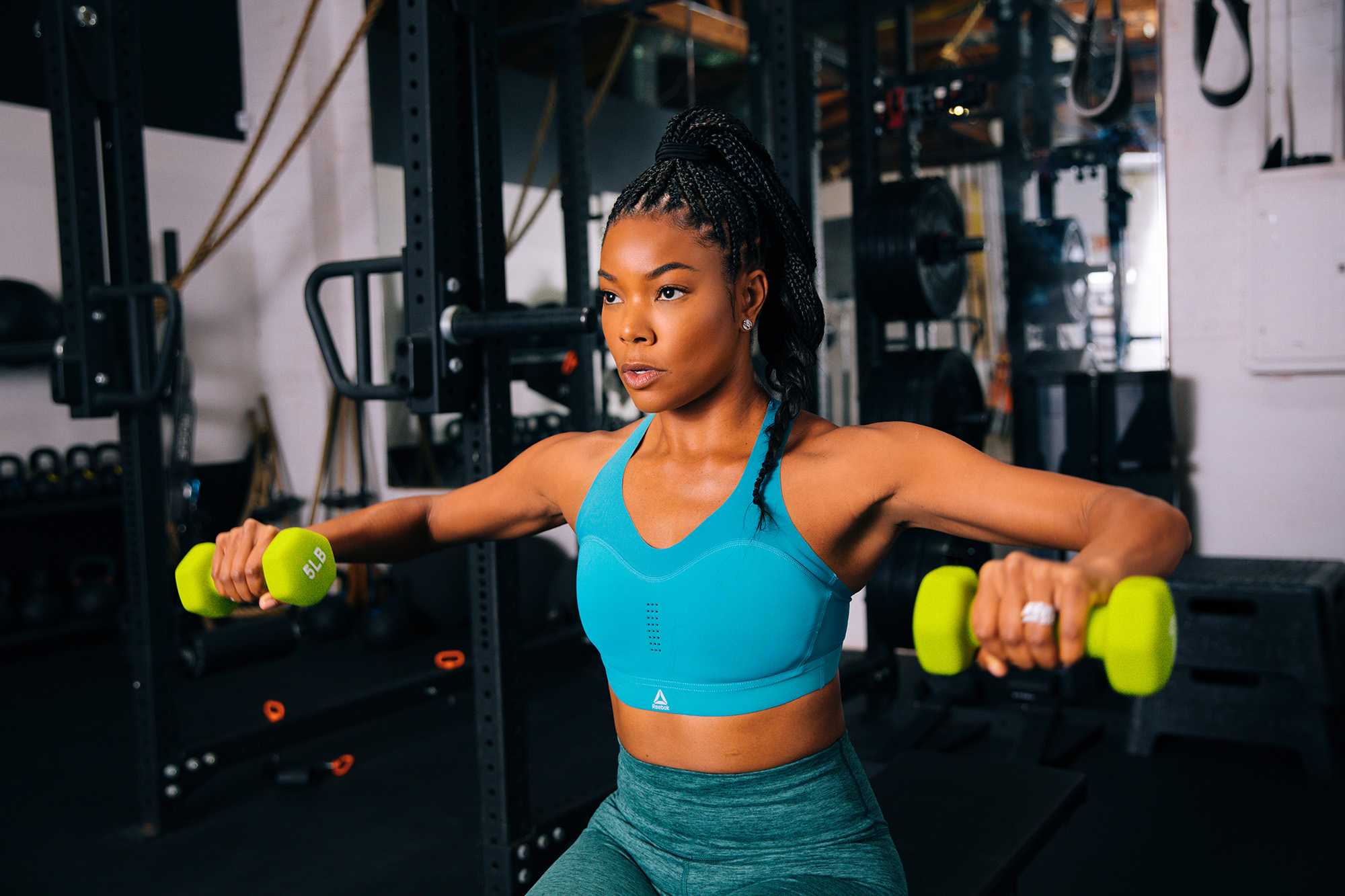 Gabrielle Union Amazon Sports Store Workout Essentials