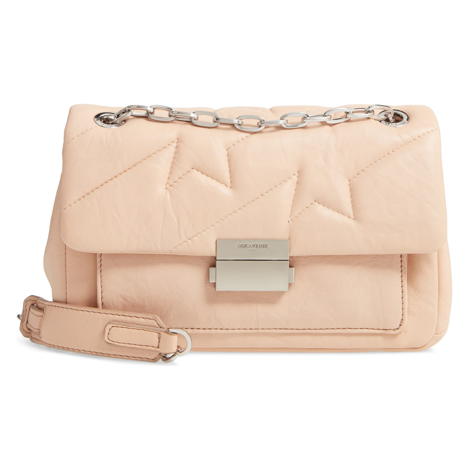 Zadig Voltaire Ziggy Quilted Shoulder Bag