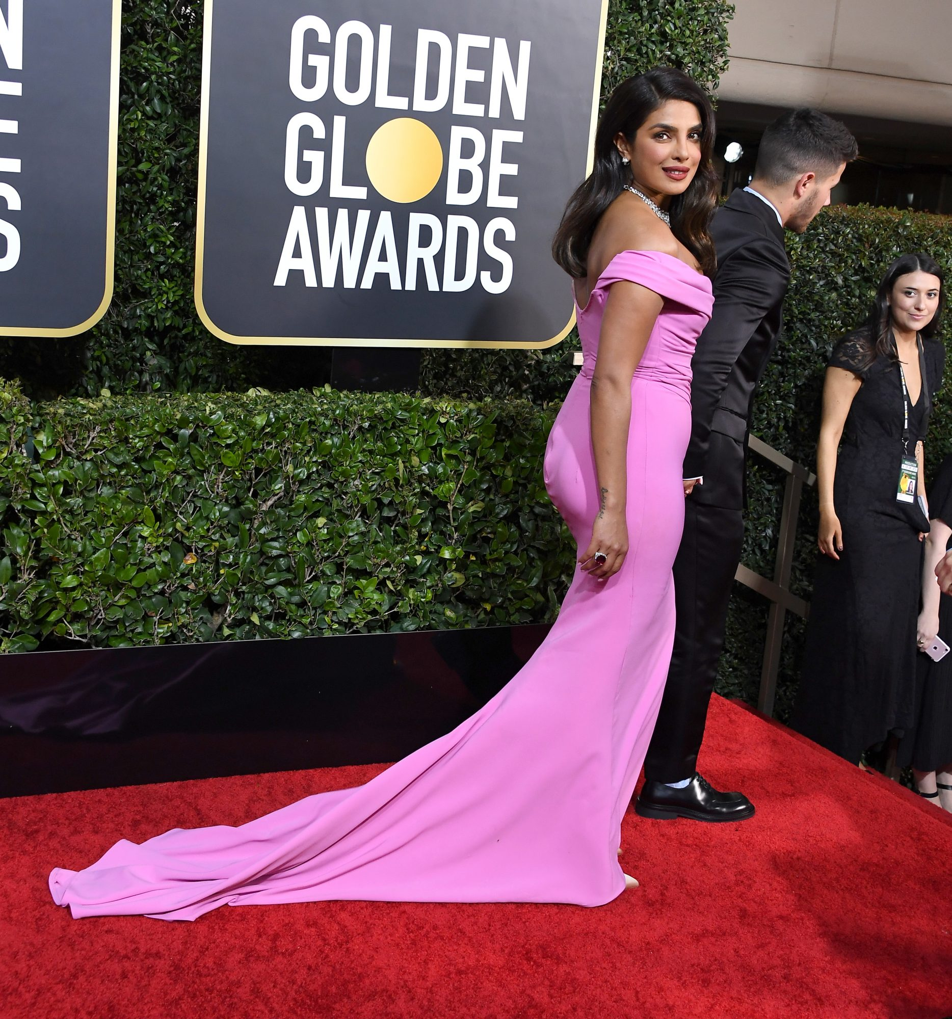 Priyanka Chopra Wears Commando to the Golden Globes