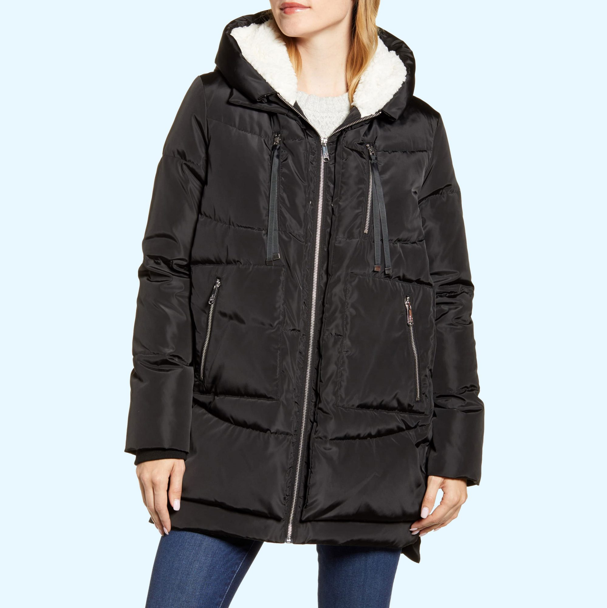 Sam Edelman Shearling Coat