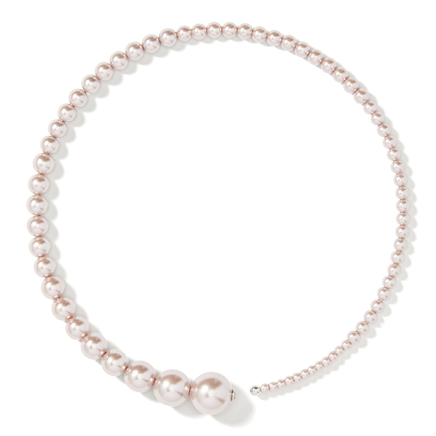 Kate Spade New York Modern Imitation Pearl Collar Necklace