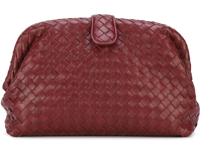 Bottega Veneta The Lauren Clutch