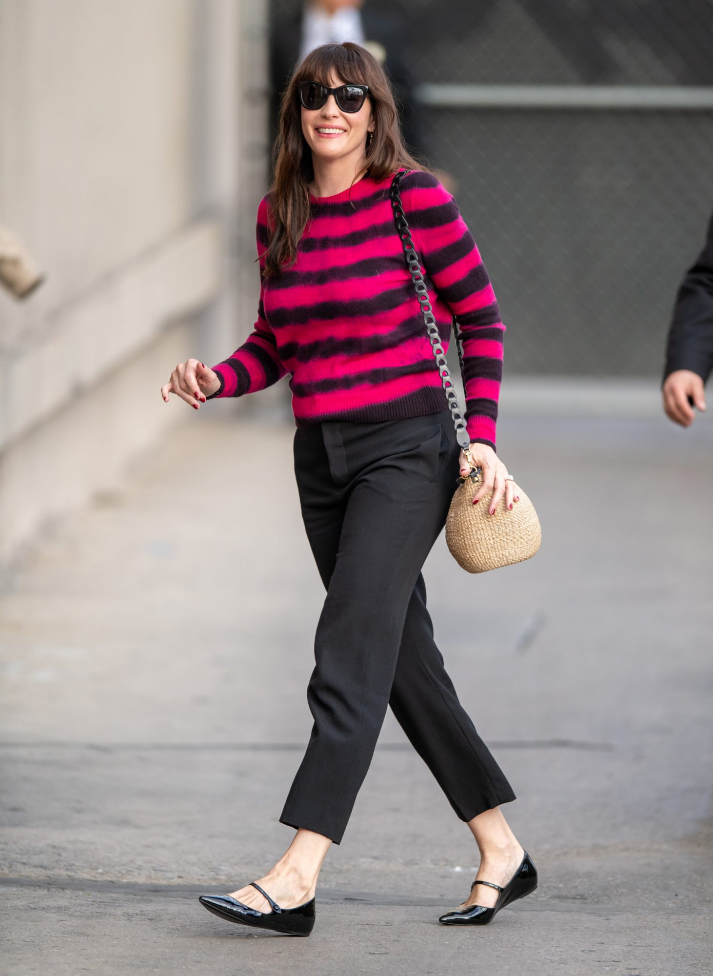Is it me or is every celeb wearing this sensible shoe trend right now?