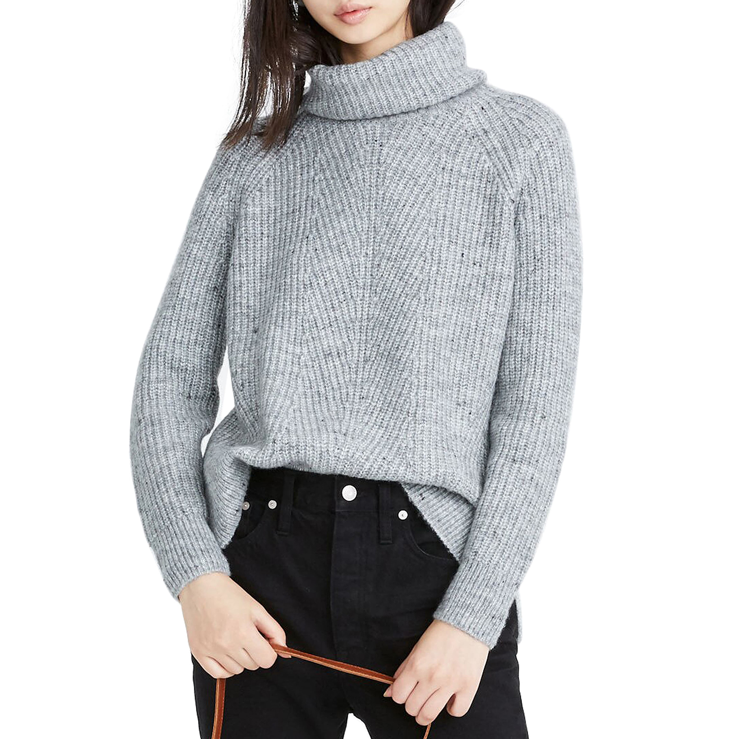 Madewell Donegal Mercer Turtleneck Sweater