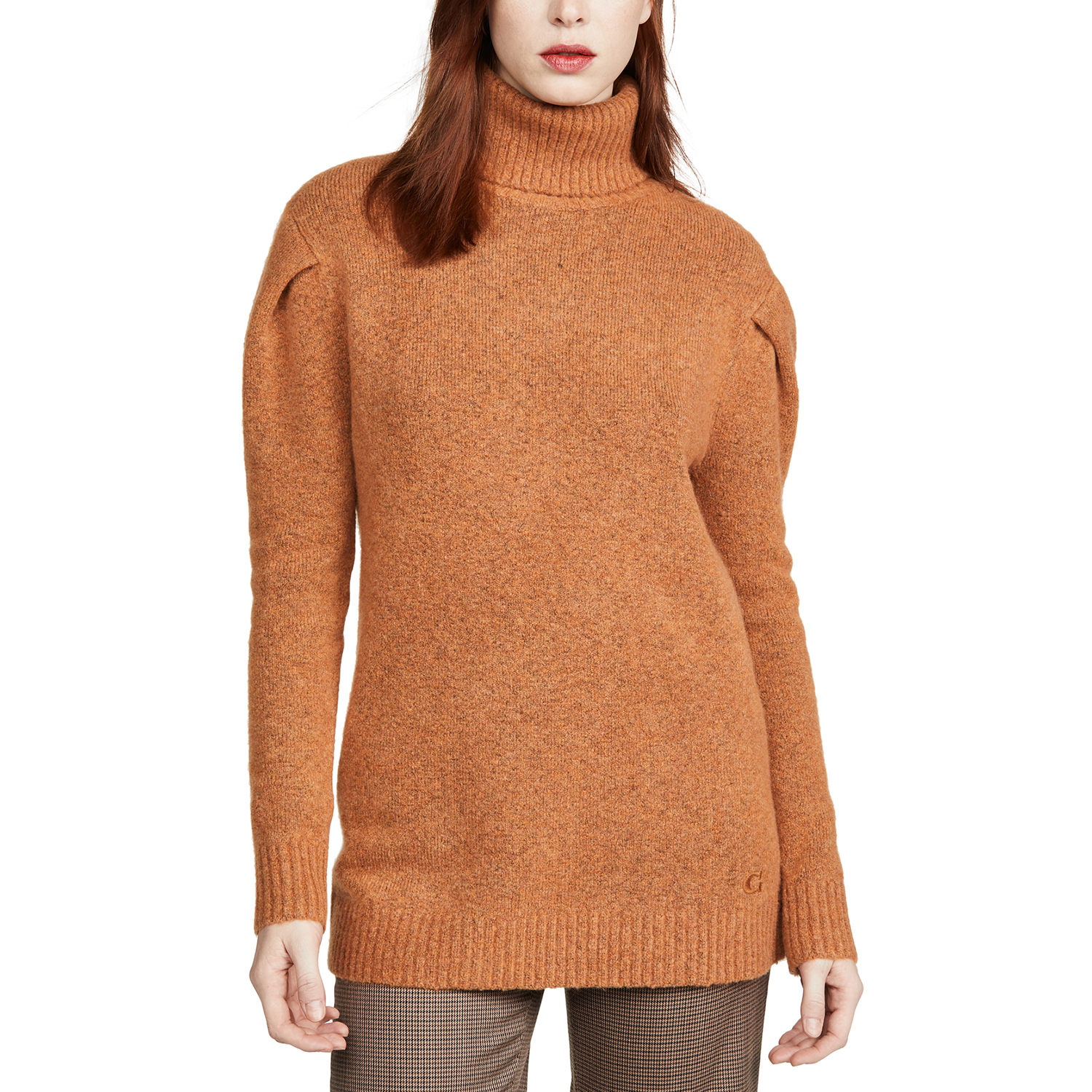 Coach 1941 Frill Sleeve Turtleneck