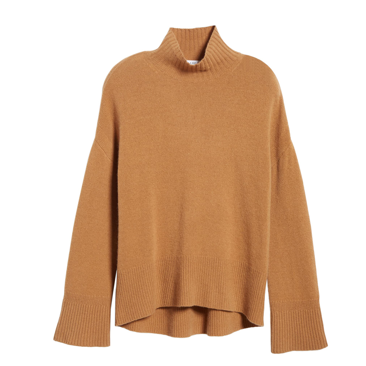 FRAME High/Low Cashmere Sweater