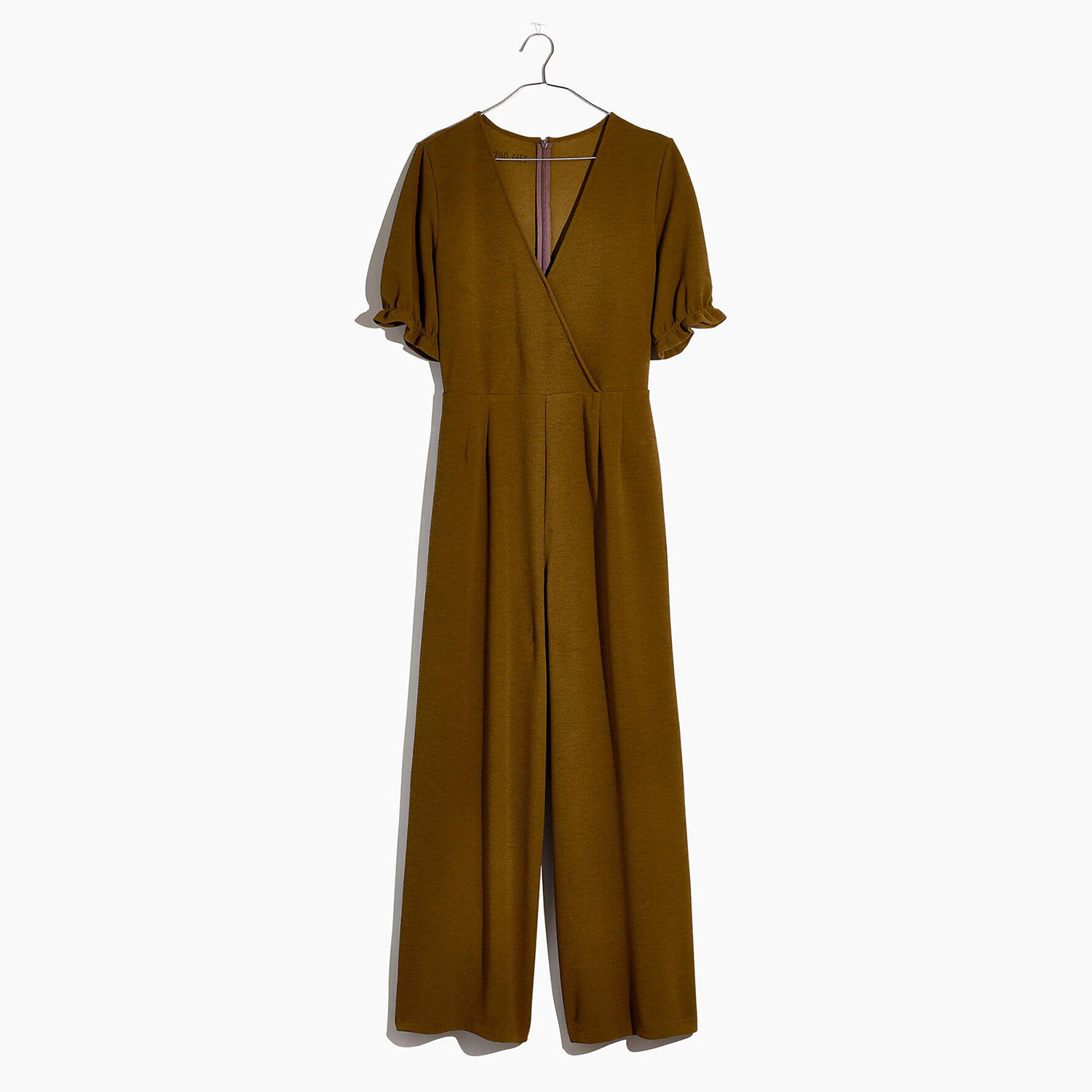 Crepe Crossover Jumpsuit