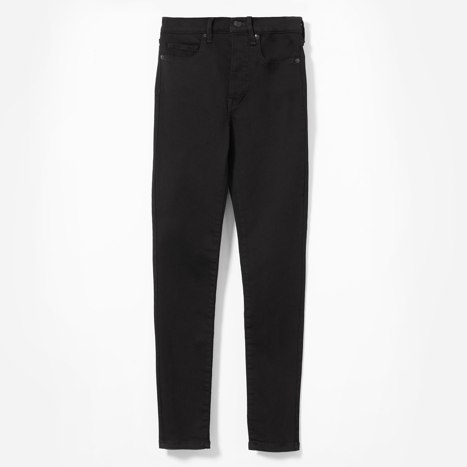 The Authentic Stretch Mid-Rise Skinny Black