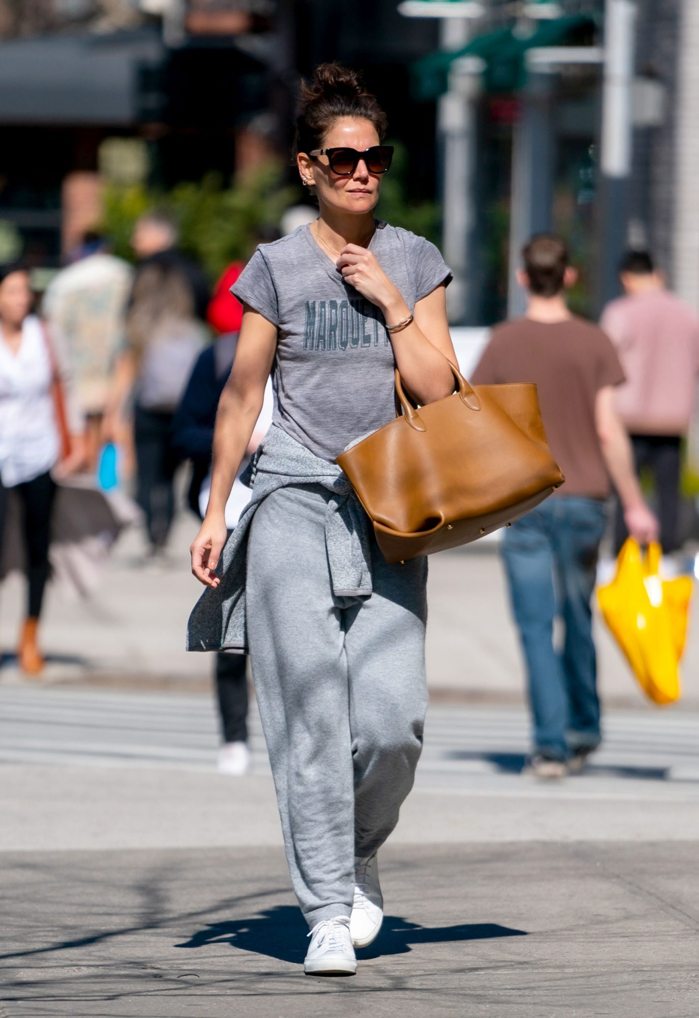 Katie Holmes in Patagonia and Ven Store