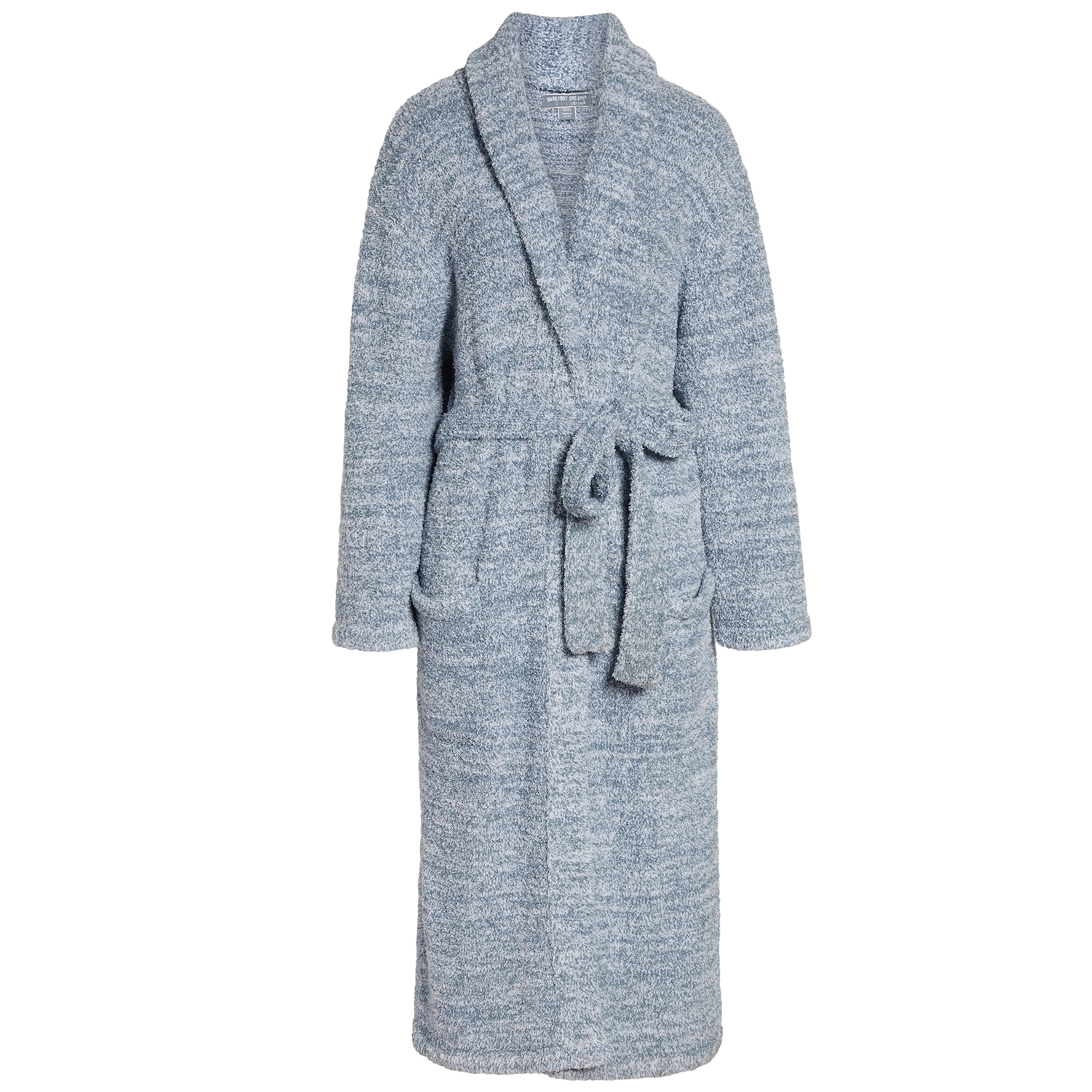 CozyChic Unisex Robe Barefoot Dreams Heathered Dusk
