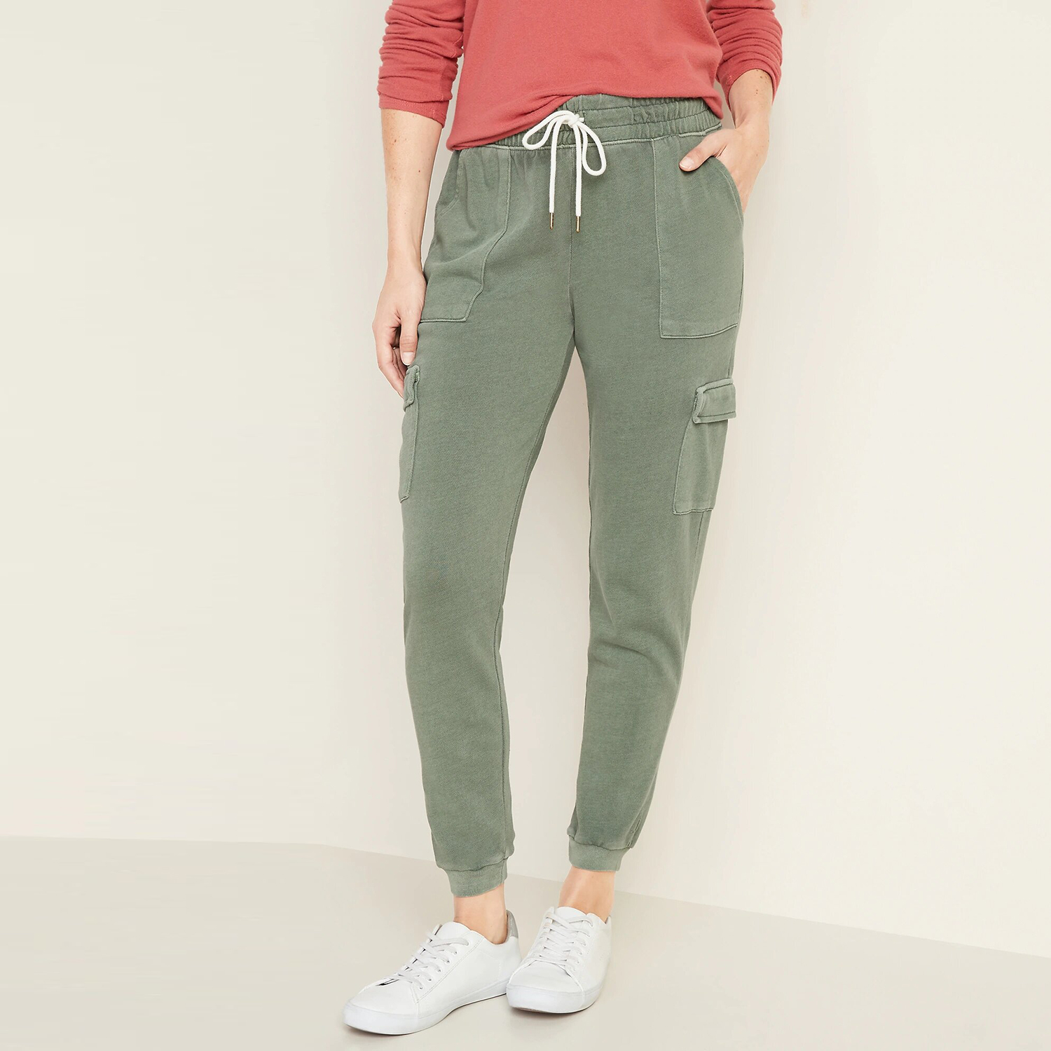 French Terry Cargo Street Jogger