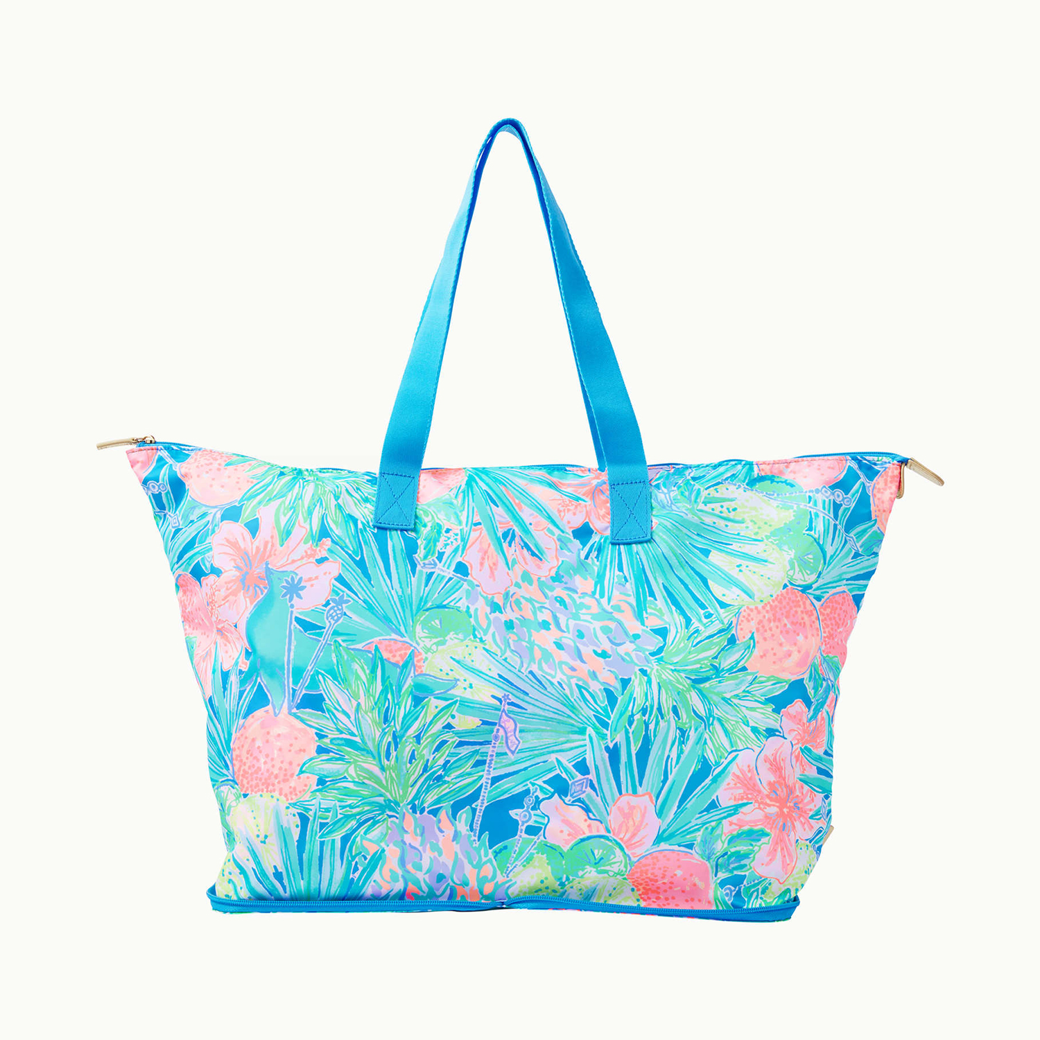 Getaway Packable Tote in Multi Swizzle In