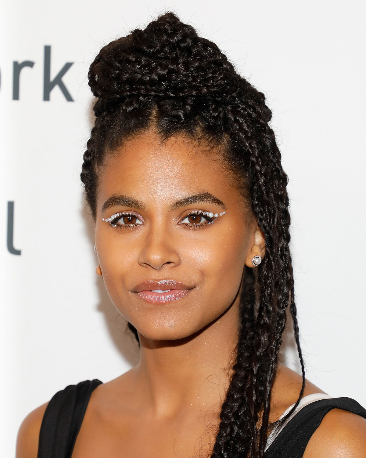 Spring Makeup Trends - Zazie Beetz