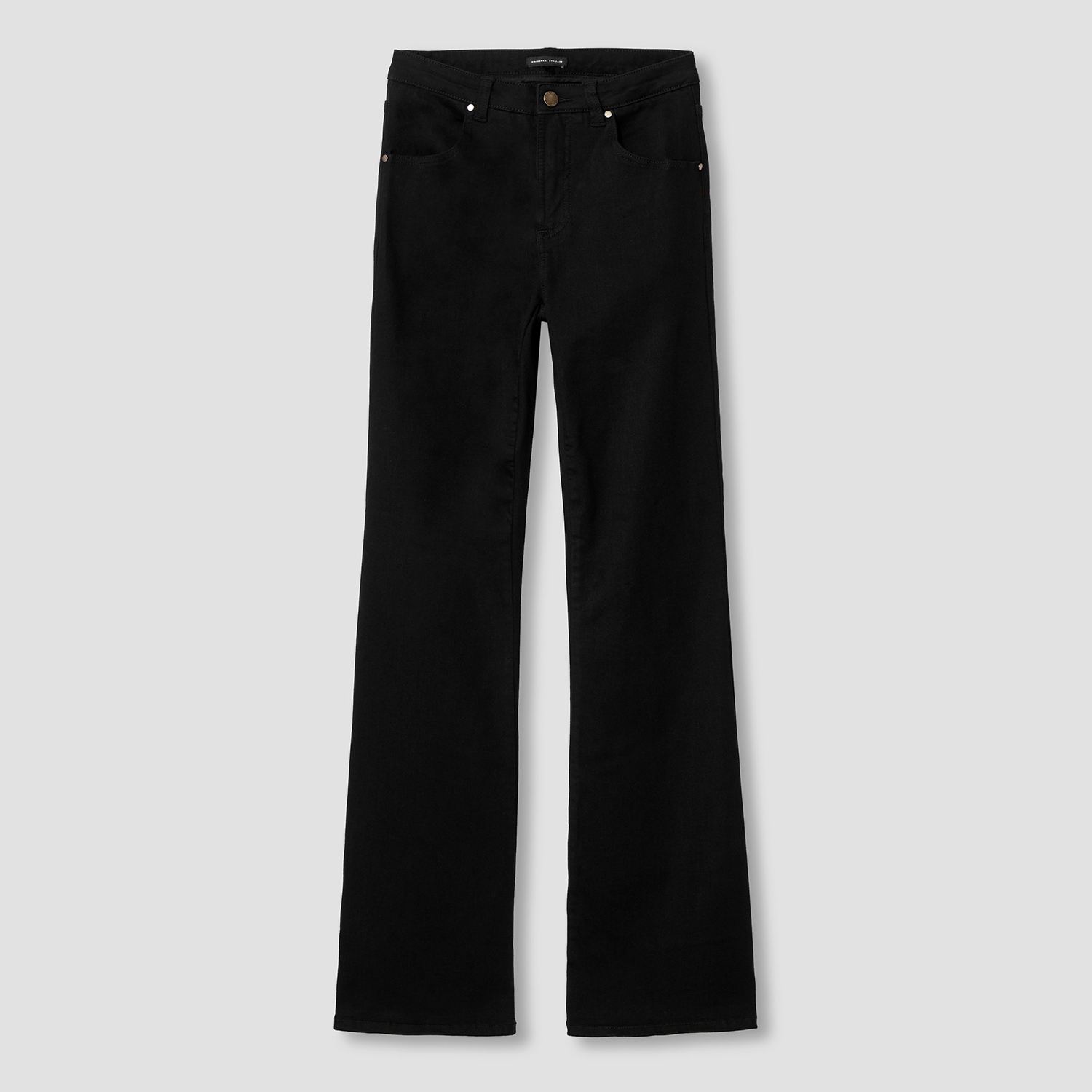 Sava High Rise Flare Jeans Black