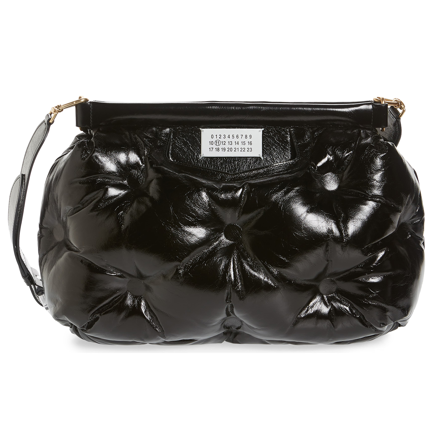 Maison Margiela Glam Slam Leather Convertible Crossbody Bag