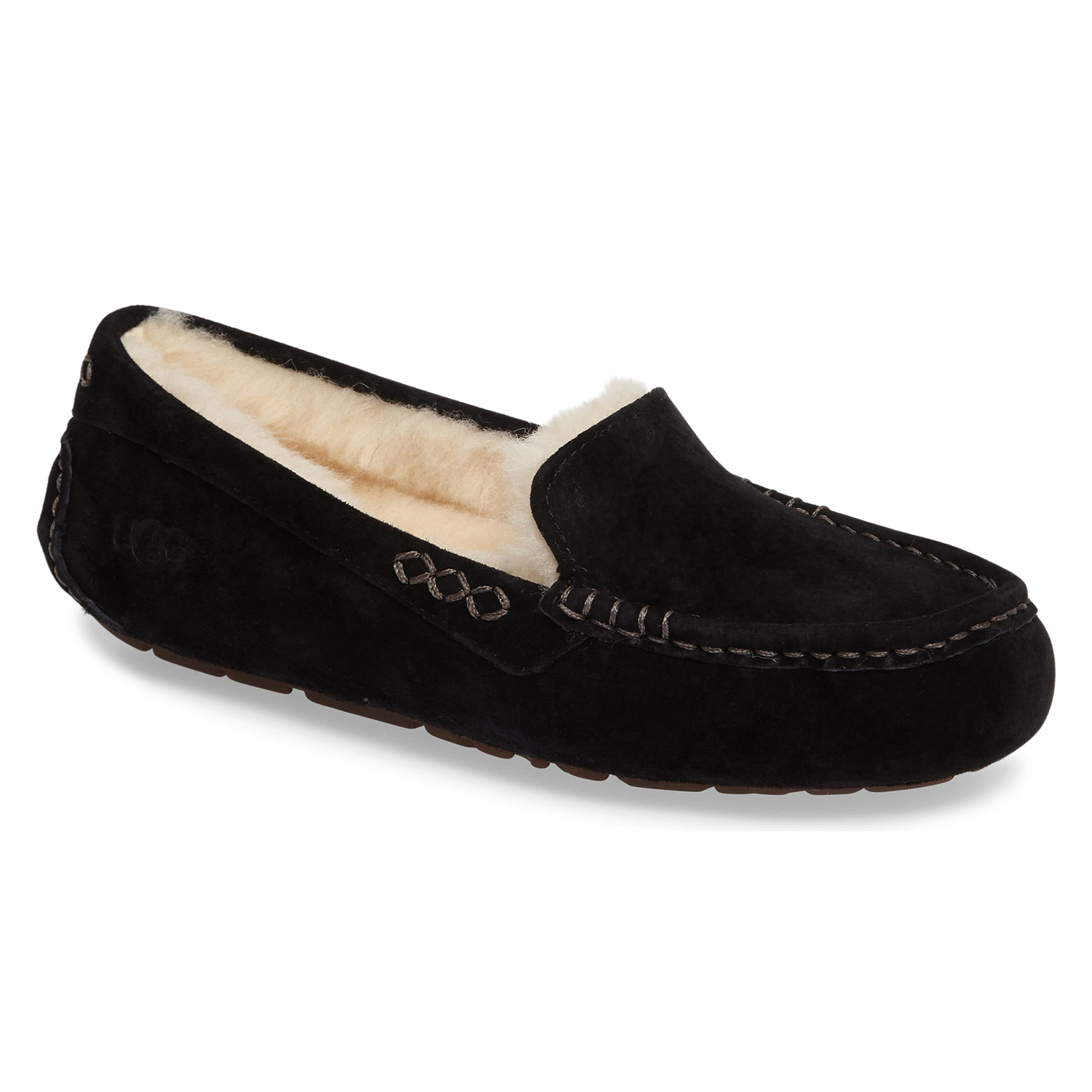 Ugg Ansley Water Resistant Slipper Black