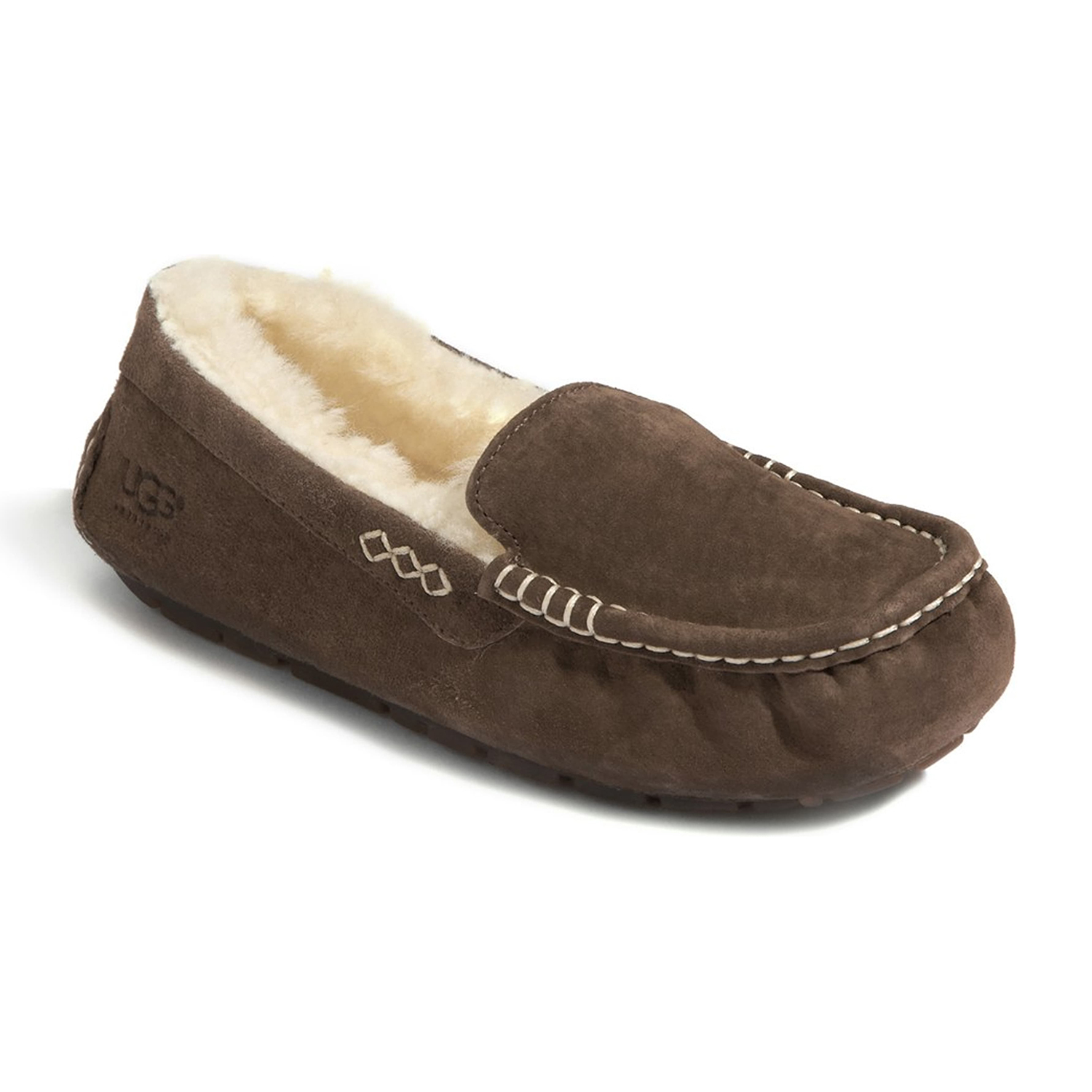 Ugg Ansley Water Resistant Slipper Chocolate