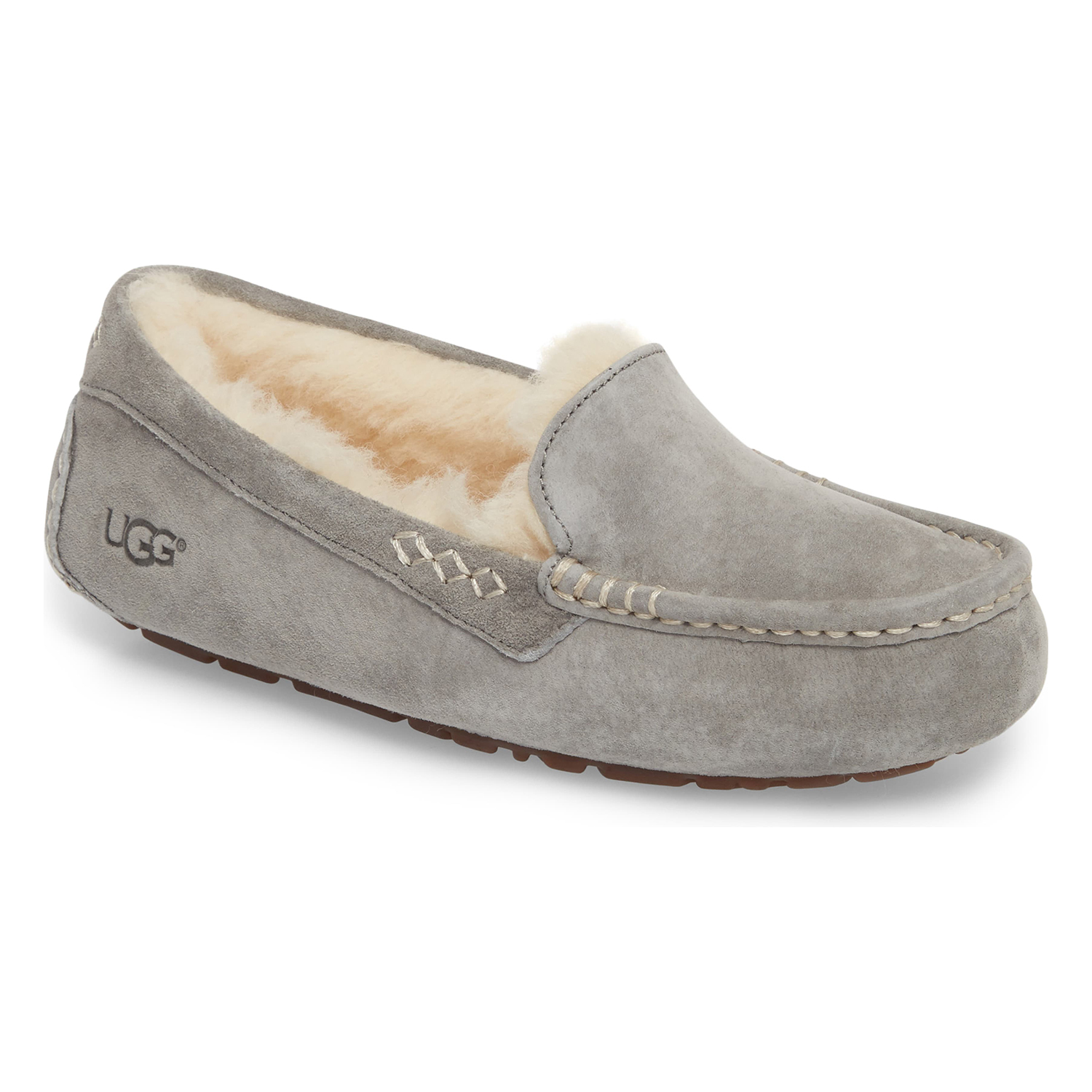 Ugg Ansley Water Resistant Slipper Light Grey