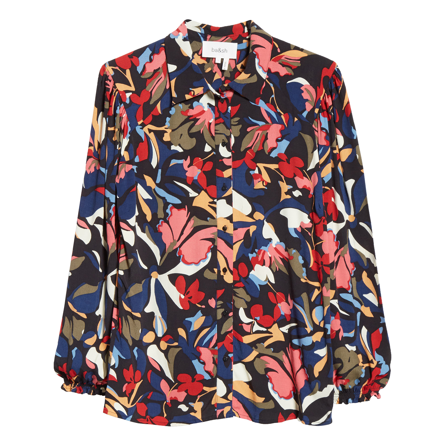 ba&sh Celline Printed Shirt