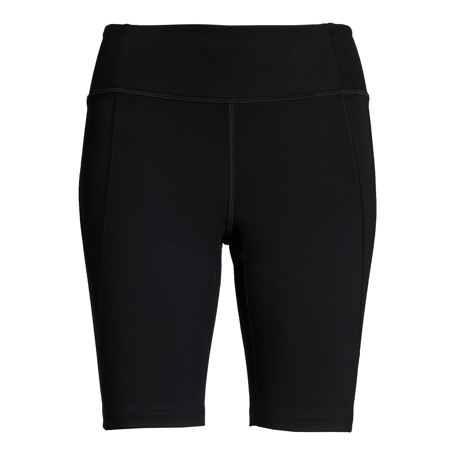Girlfriend Collection High Waist Bike Shorts Black