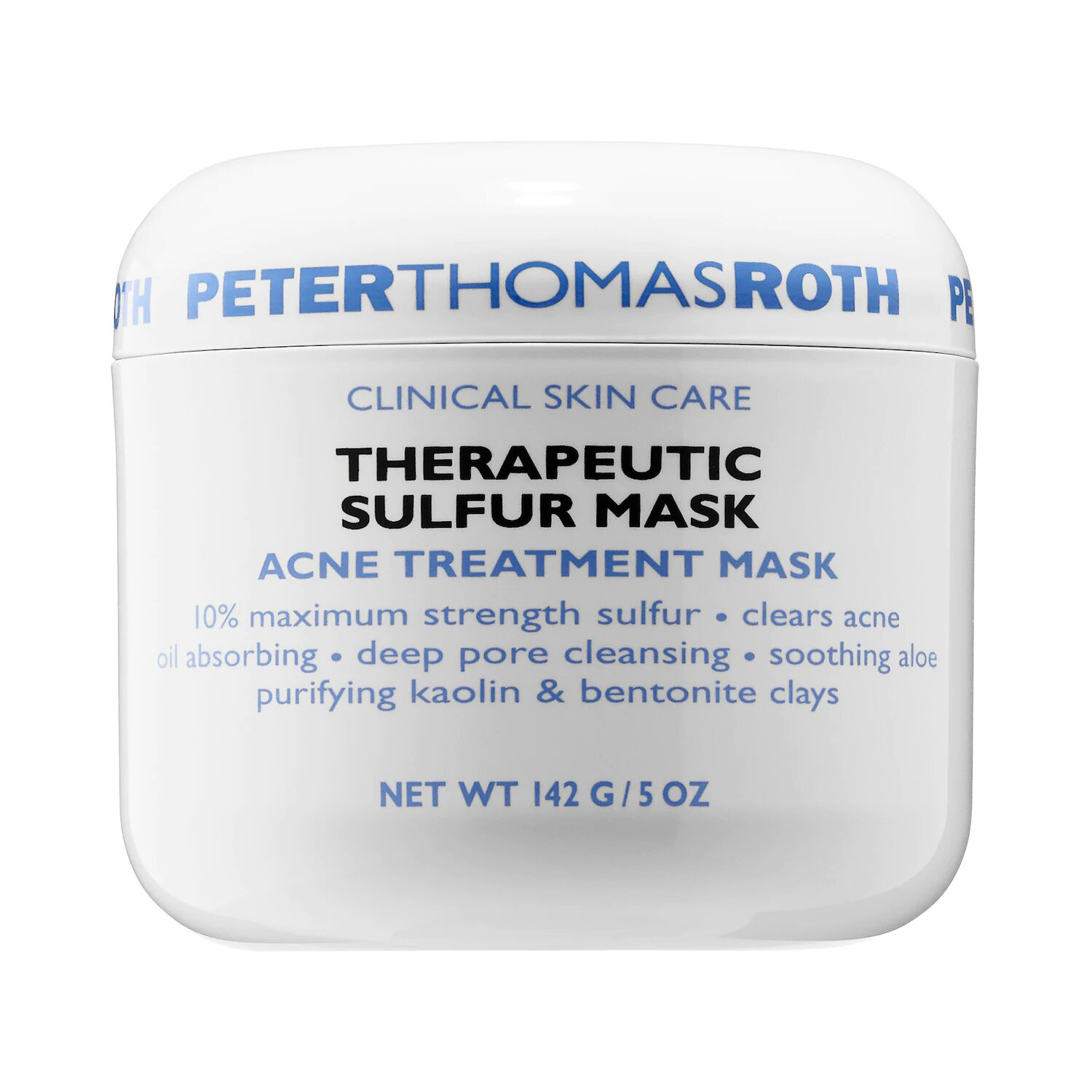 Therapeutic Sulfur Mask Acne Treatment Mask Peter Thomas Roth