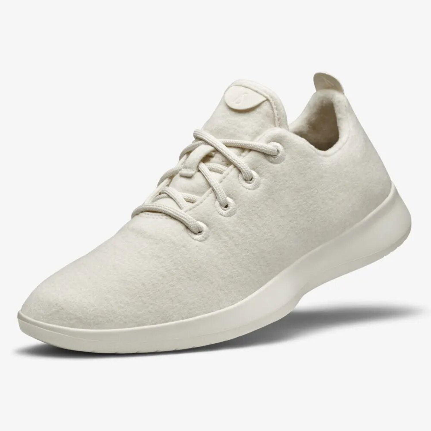 Wool Runners Natural White Cream Sole