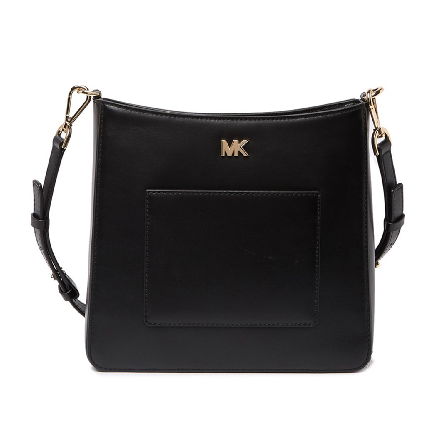 Michael Kors Leather Pocket Swing Crossbody Bag