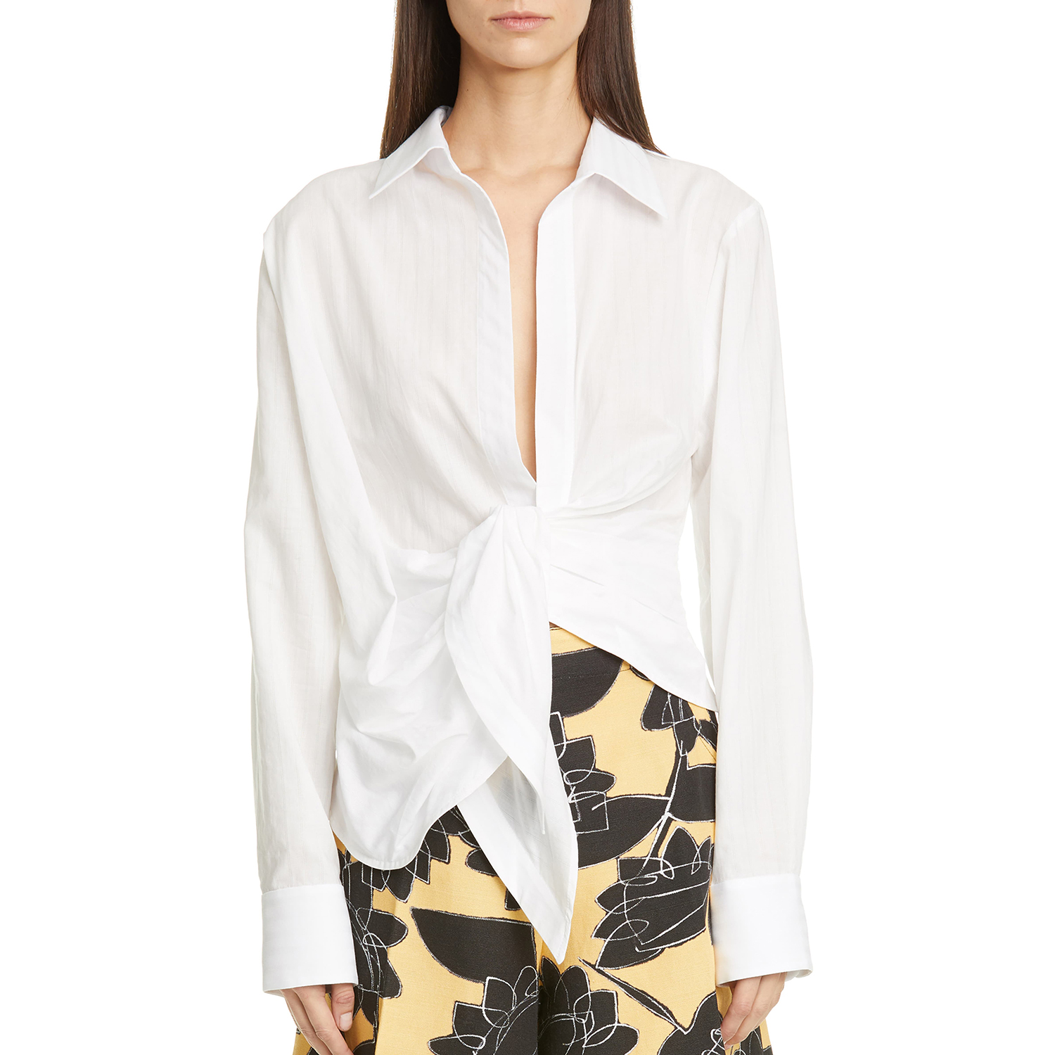 Jacquemus Bahia Cotton Blouse