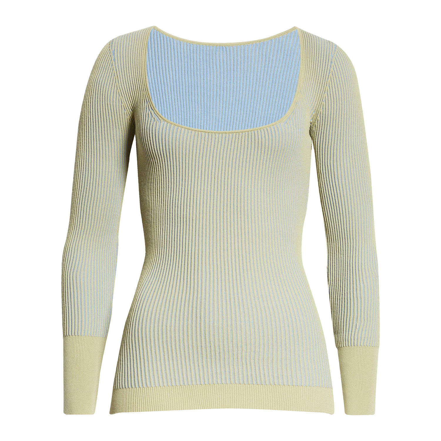 Jacquemus Rosa Ribbed Top