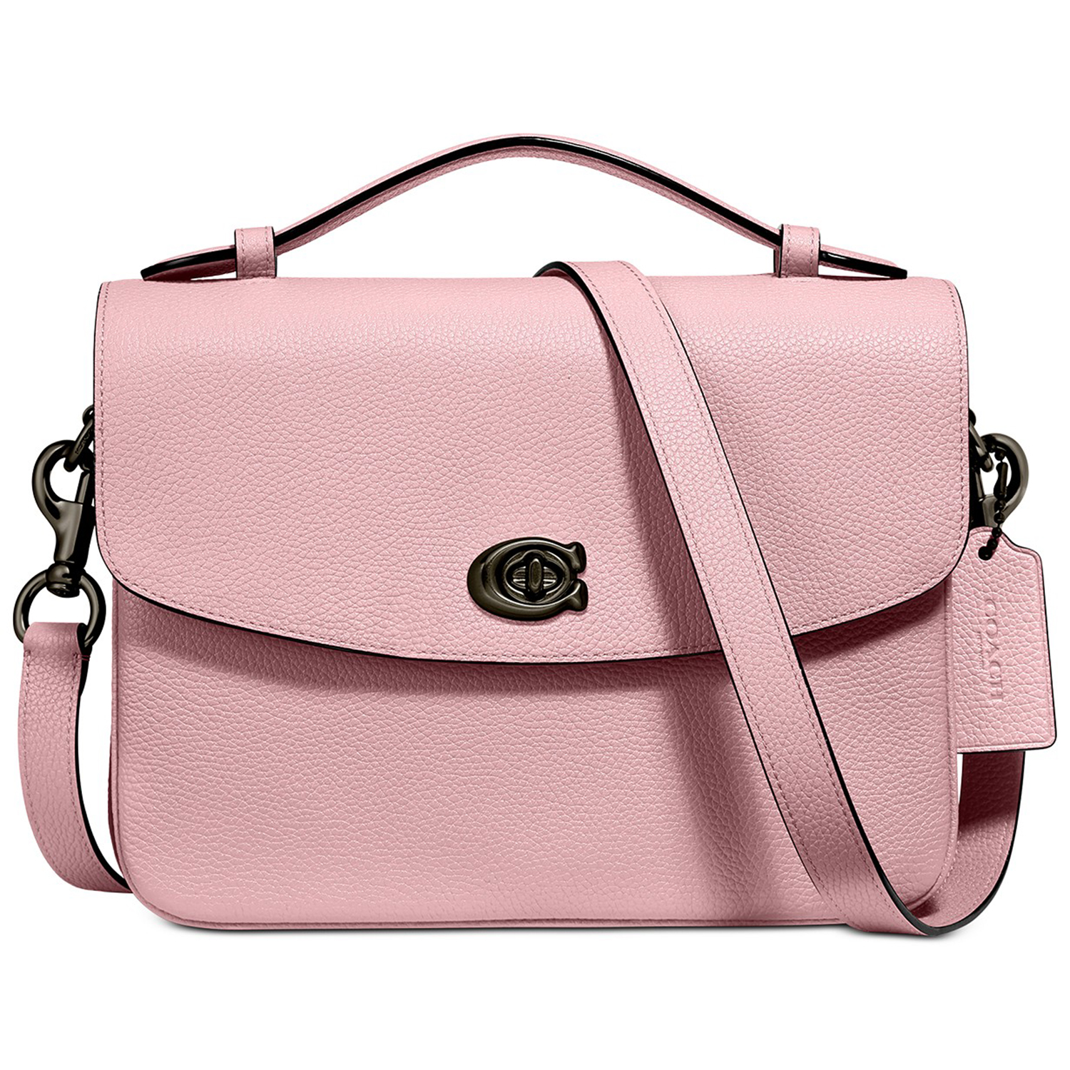 COACH Cassie Crossbody In Polished Pebble Leather