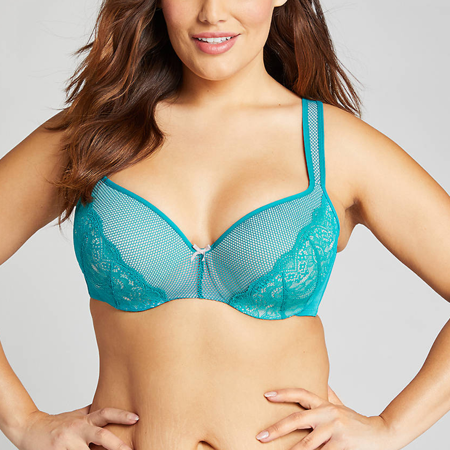 Smooth Lightly Lined Balconette Bra Fanfare