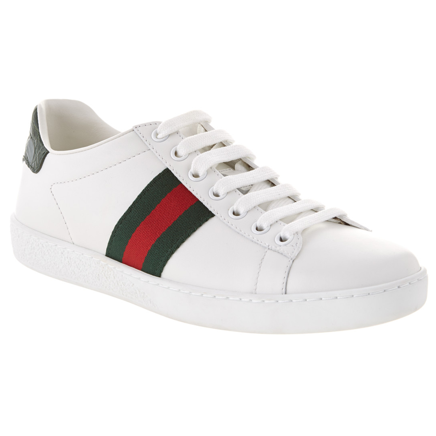 Gucci Ace Low-Top Leather Sneaker