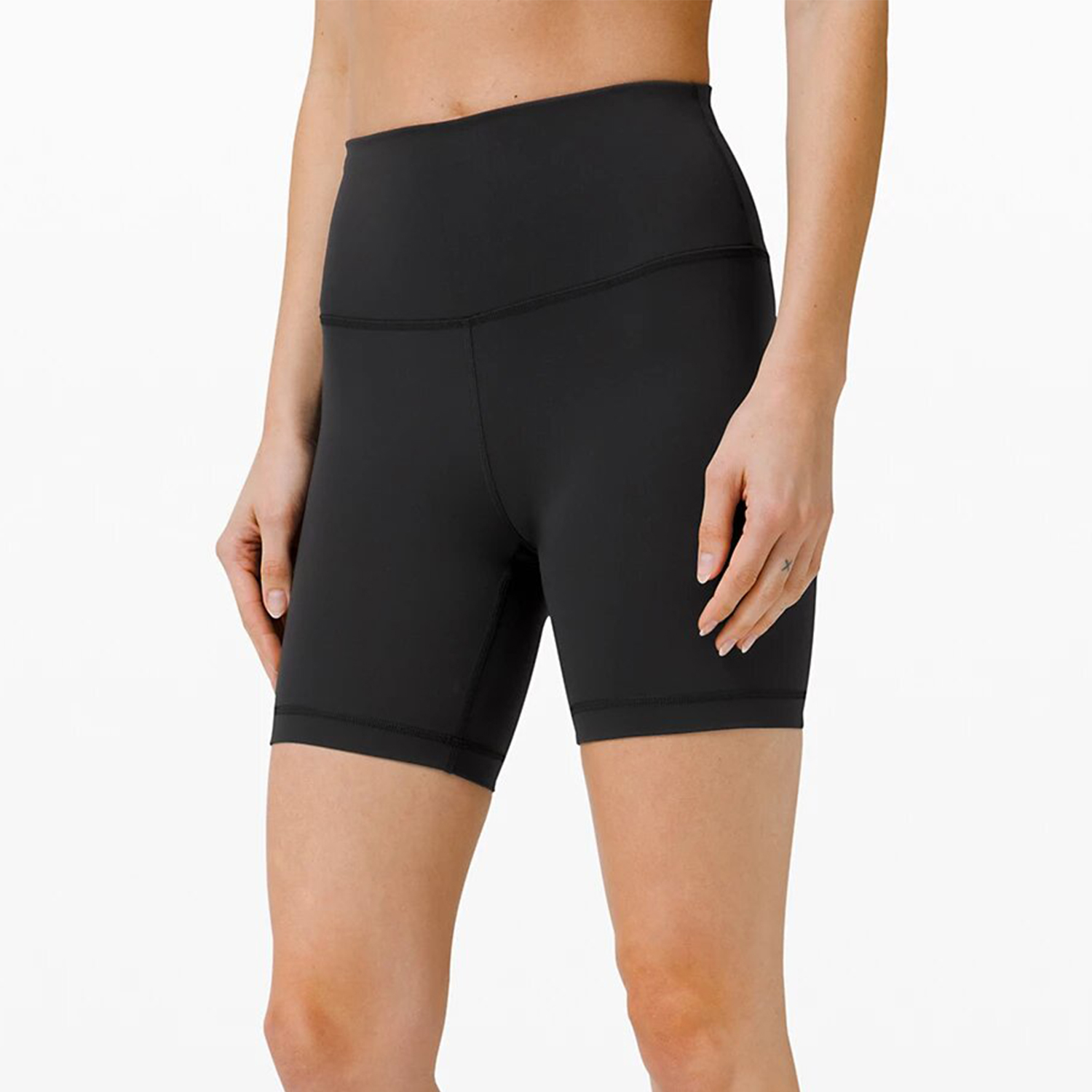 Wunder Train High-Rise Short 6 Black