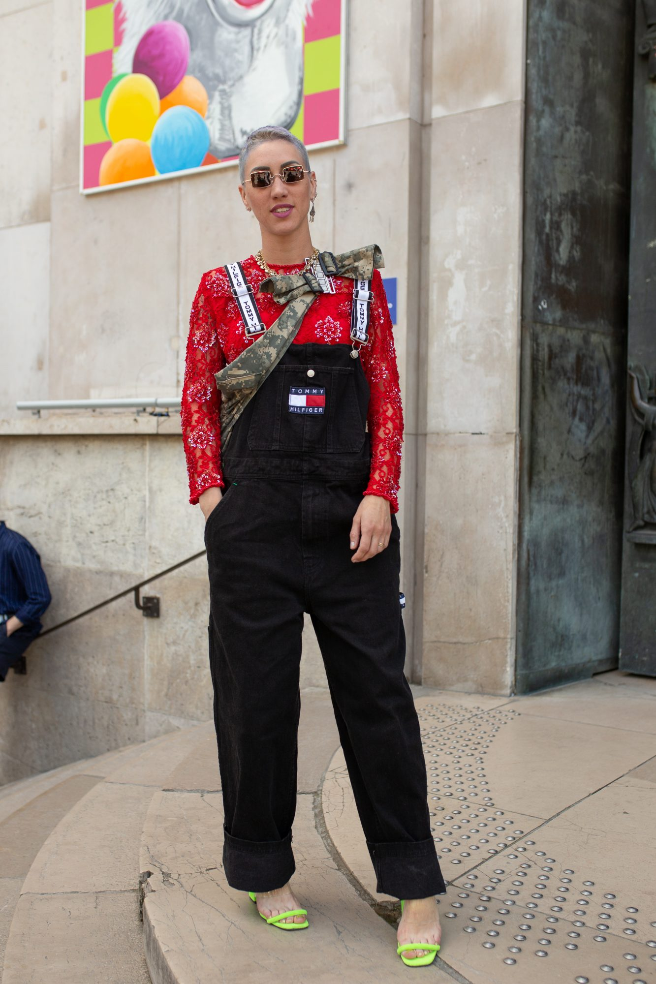 How to Wear Overalls, Overalls With Heels