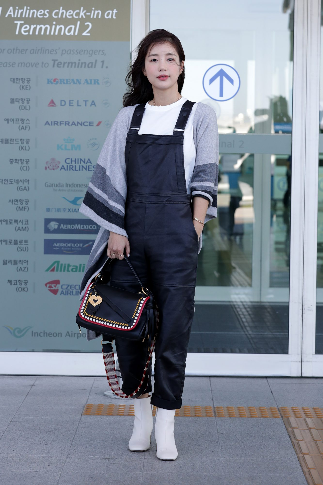 How to Wear Overalls, Leather Overalls Outfit