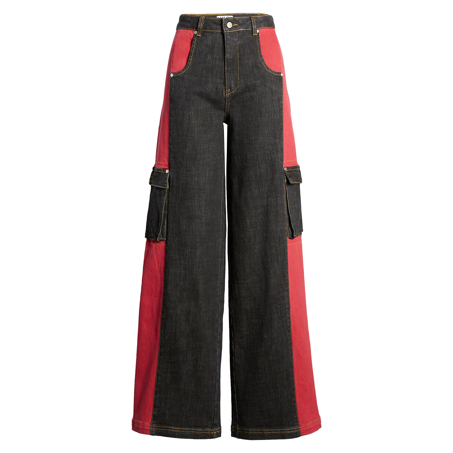 I.AM.GIA Bessi High Waist Wide Leg Cargo Jeans