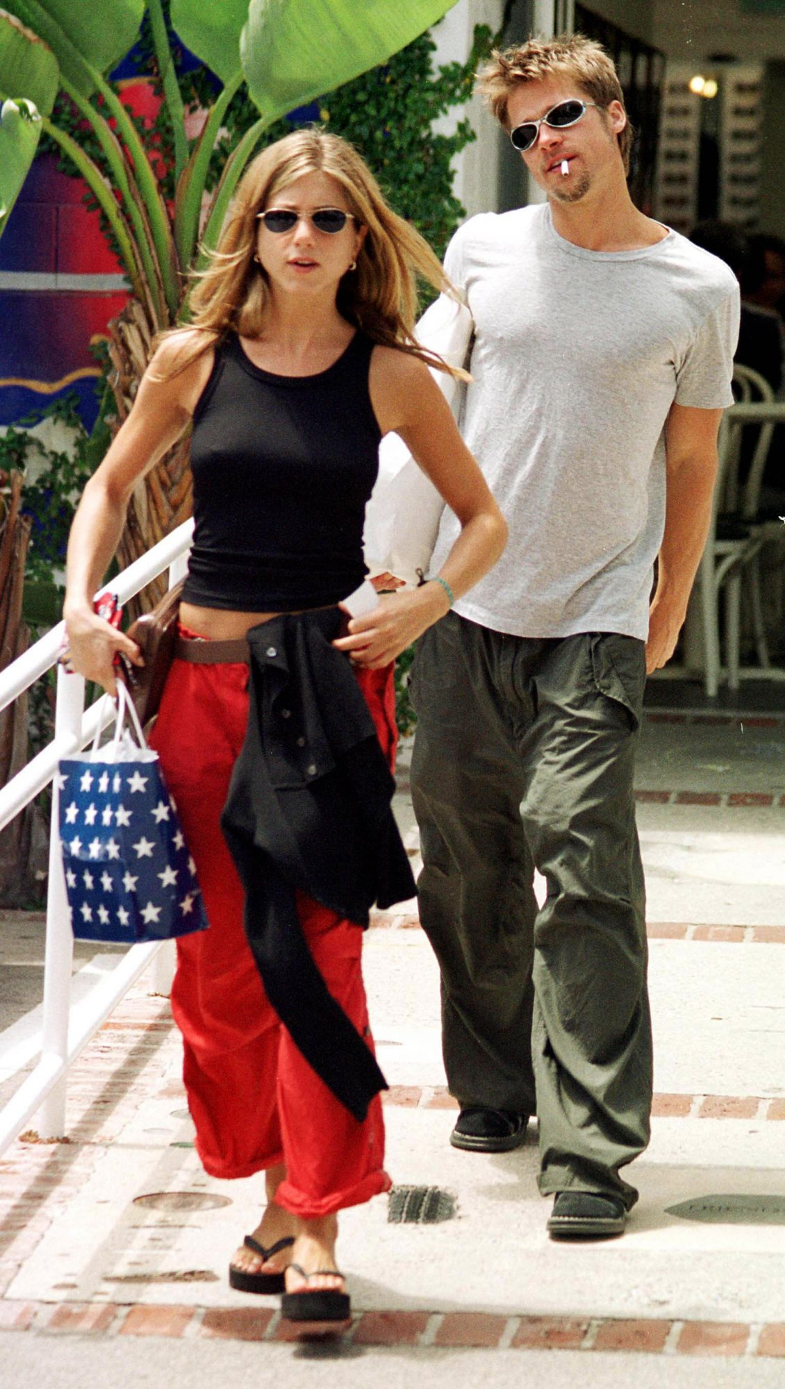 Jennifer Aniston Cargo Pants
