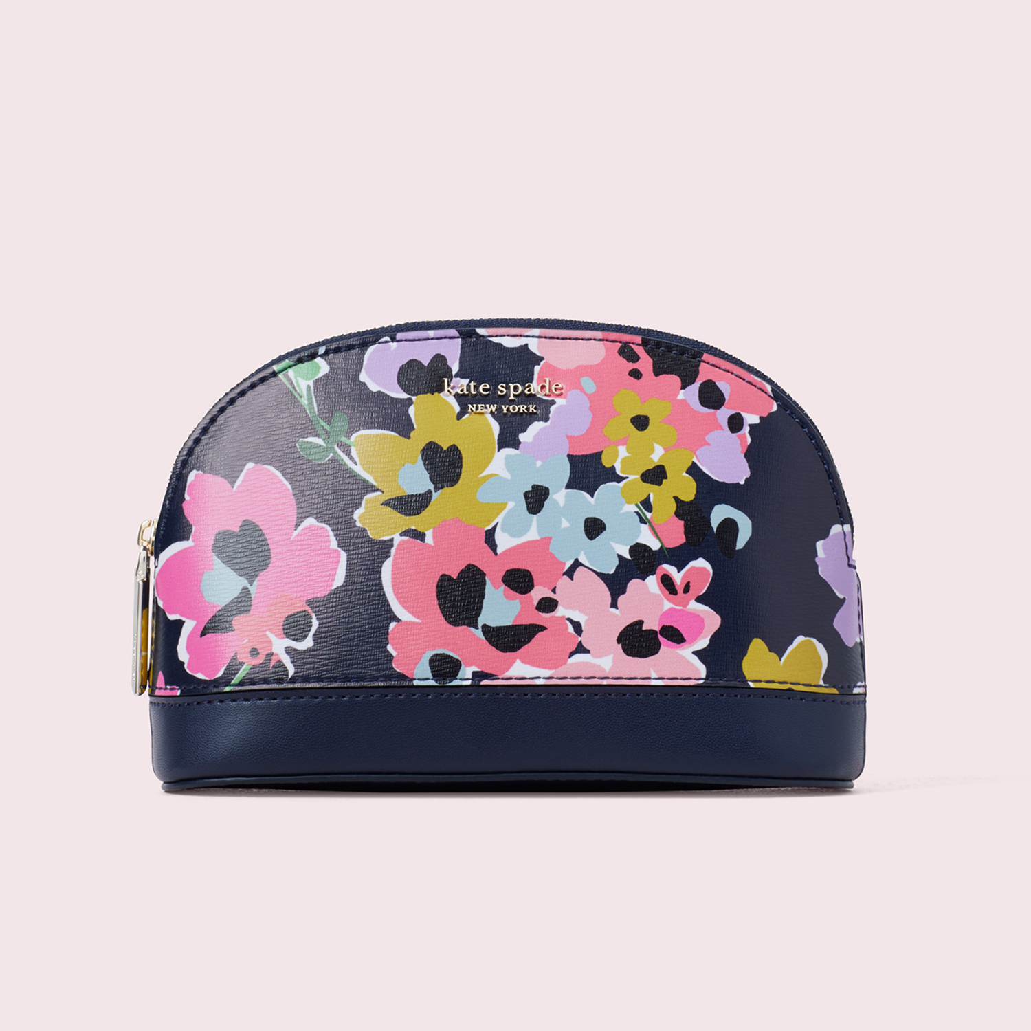 Sylvia Wildflower Bouquet Medium Dome Cosmetic Bag Kate Spade