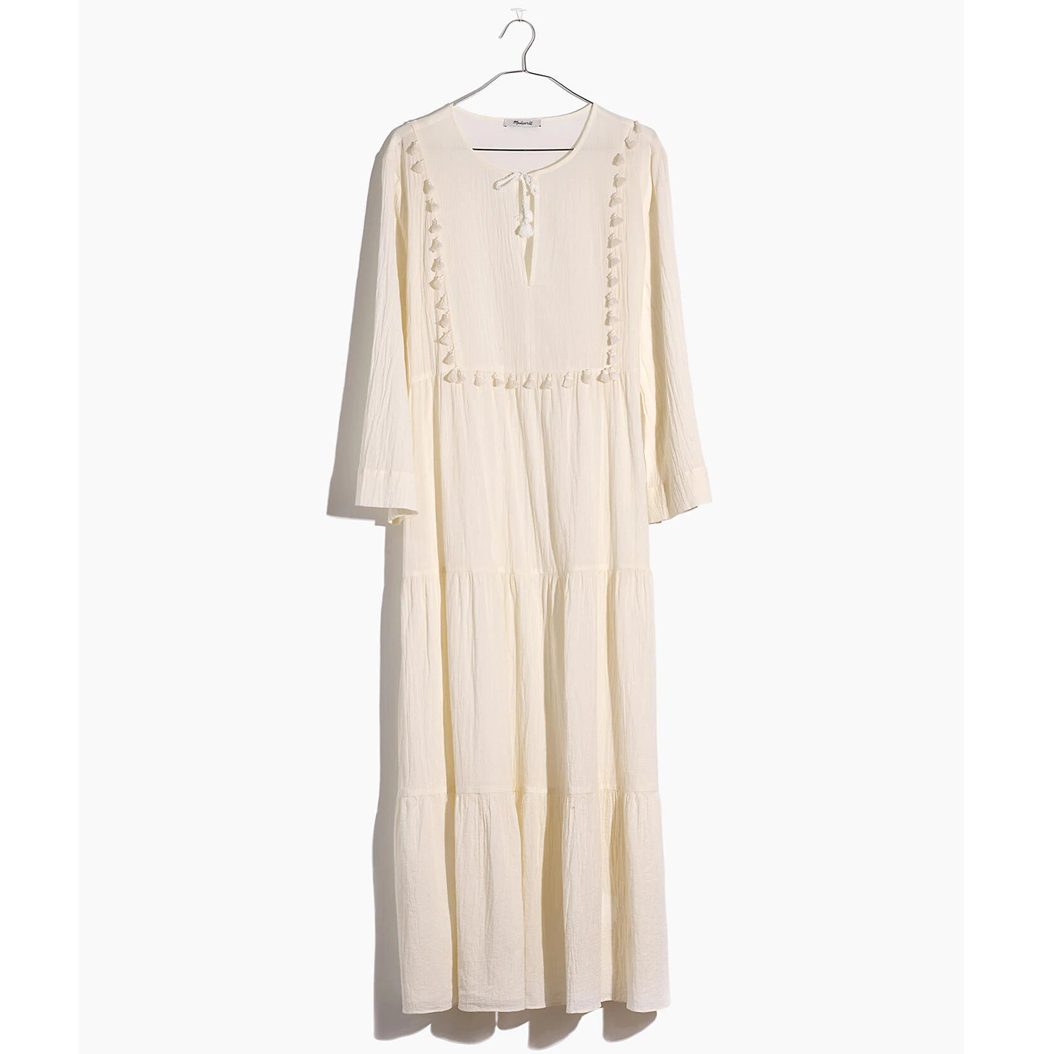 Tiered Cover-Up Caftan Dress