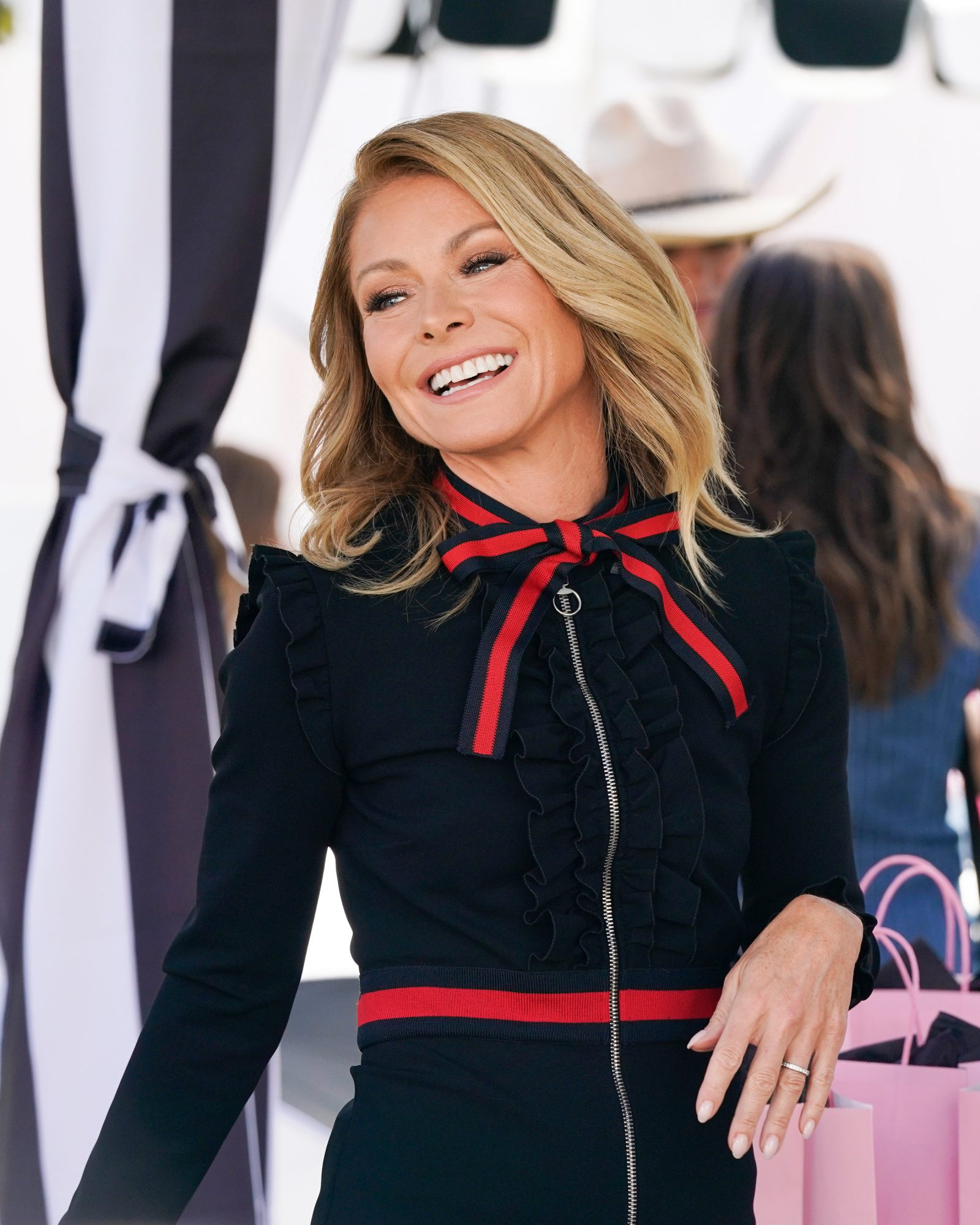 Kelly Ripa's Turned to Hair Clips For Disguising Her Grey Roots