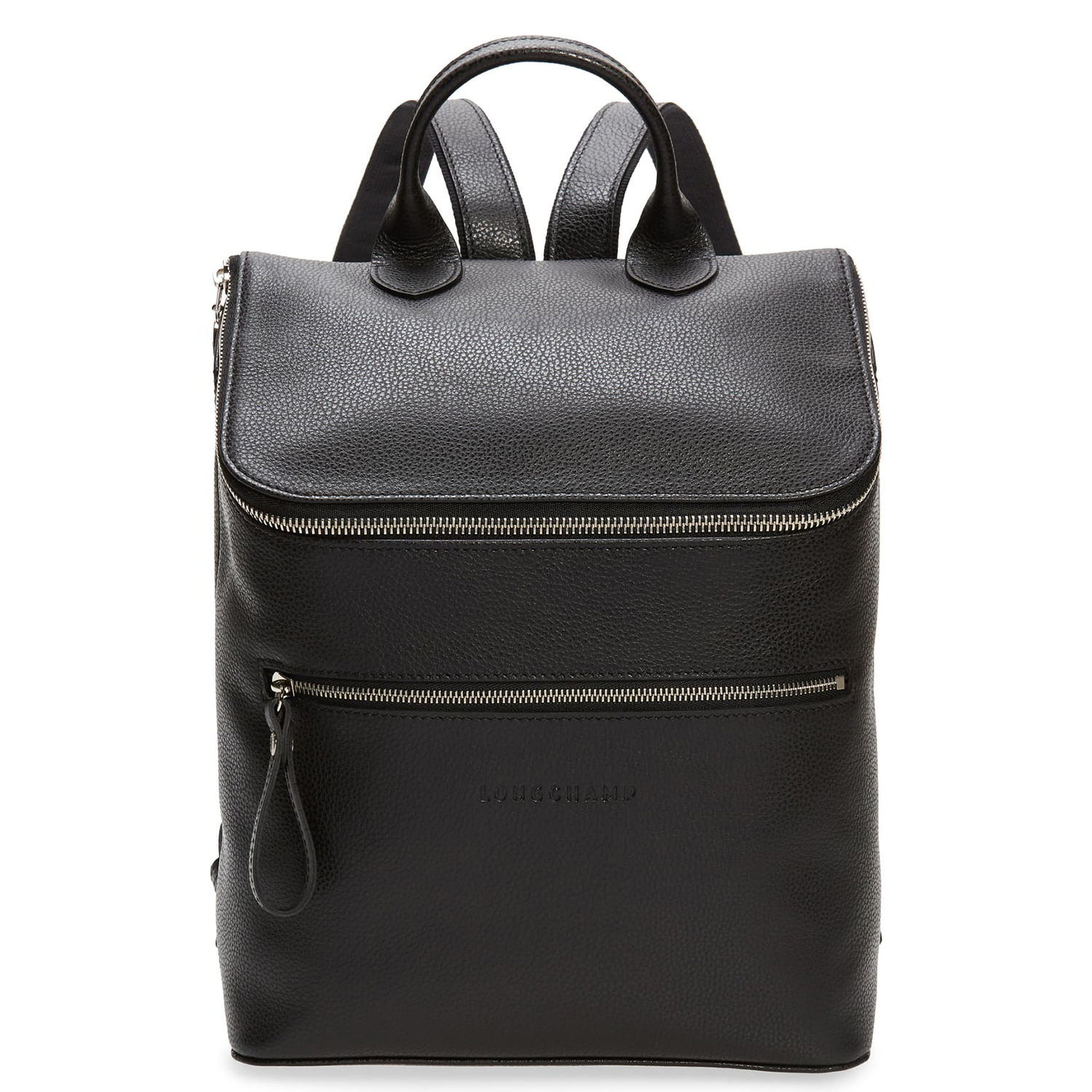 Longchamp Le Foulonne Leather Backpack