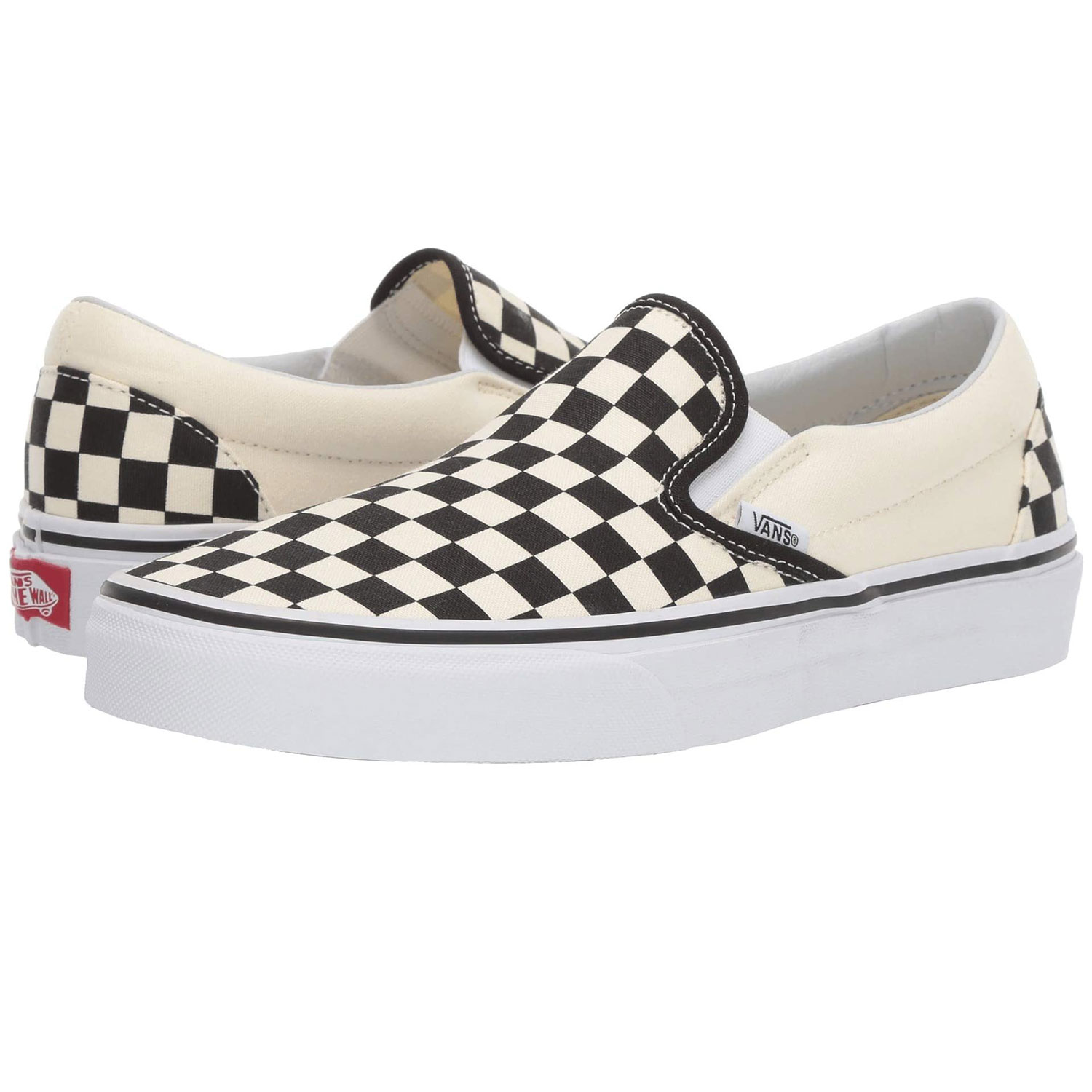 Vans Classic Slip-On Core Classics Checkered Black and White