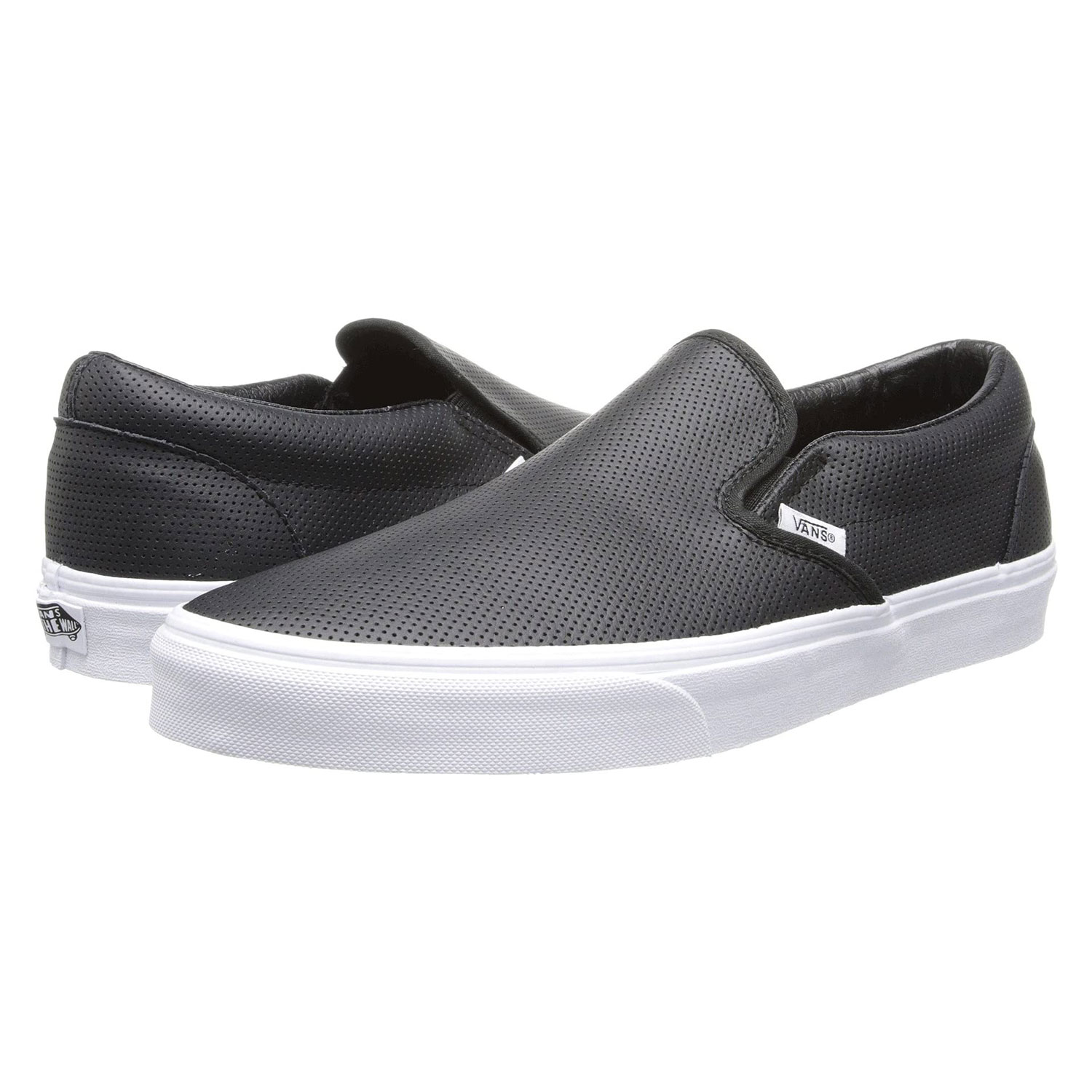 Vans Classic Slip-On Core Classics Perf Leather Black