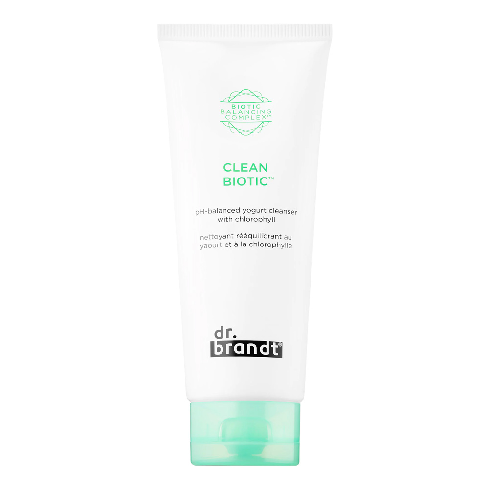 Dr. Brandt Skincare Clean Biotic pH-Balanced Yogurt Cleanser With Chlorophyll