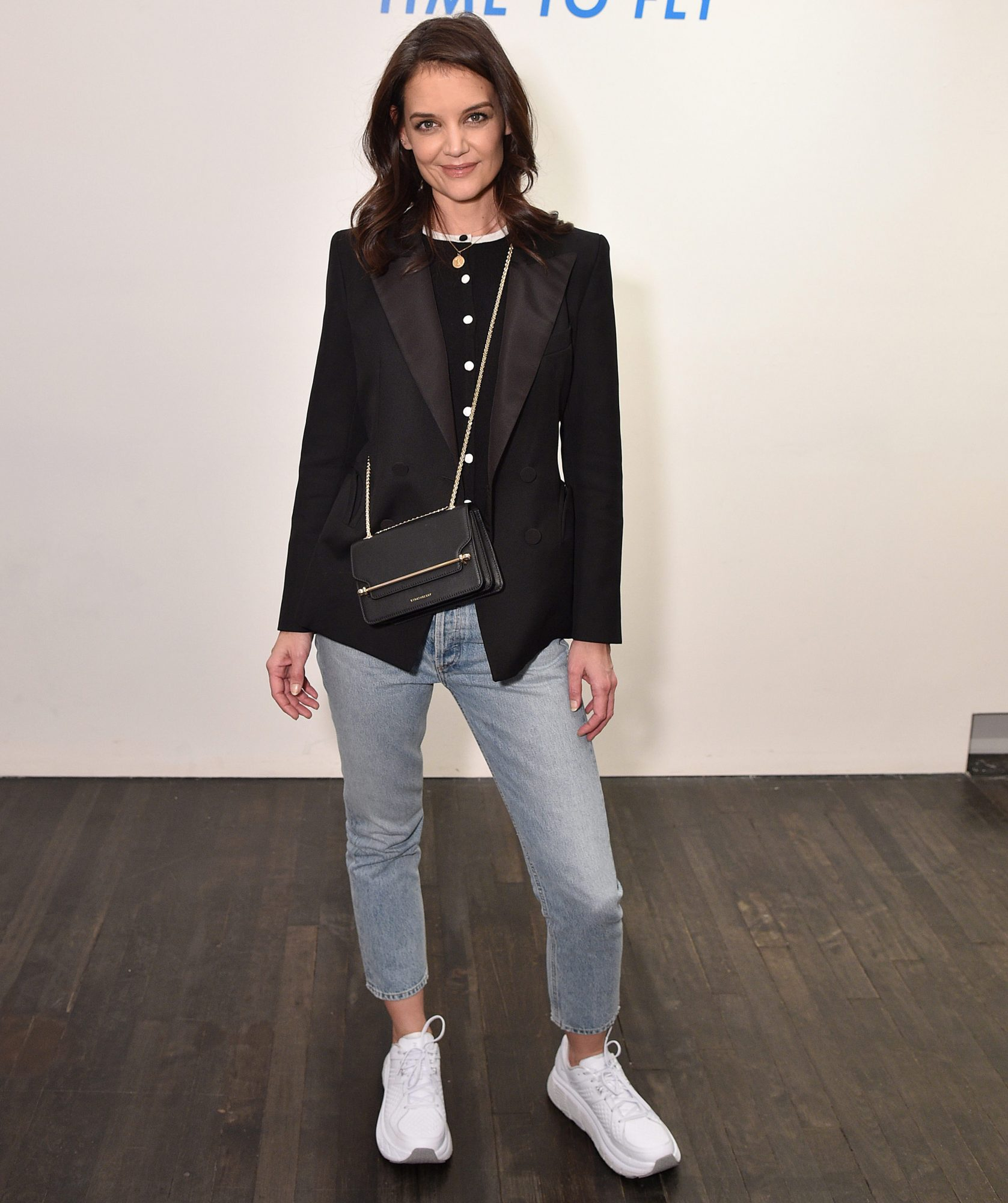Katie Holmes Strathberry Bag - Embed