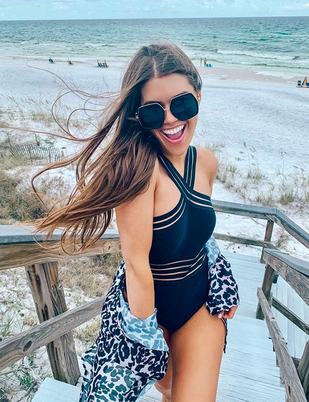 Amazon Shoppers Love How the Stylish Details on This One-Piece Swimsuit Are Secretly So Functional