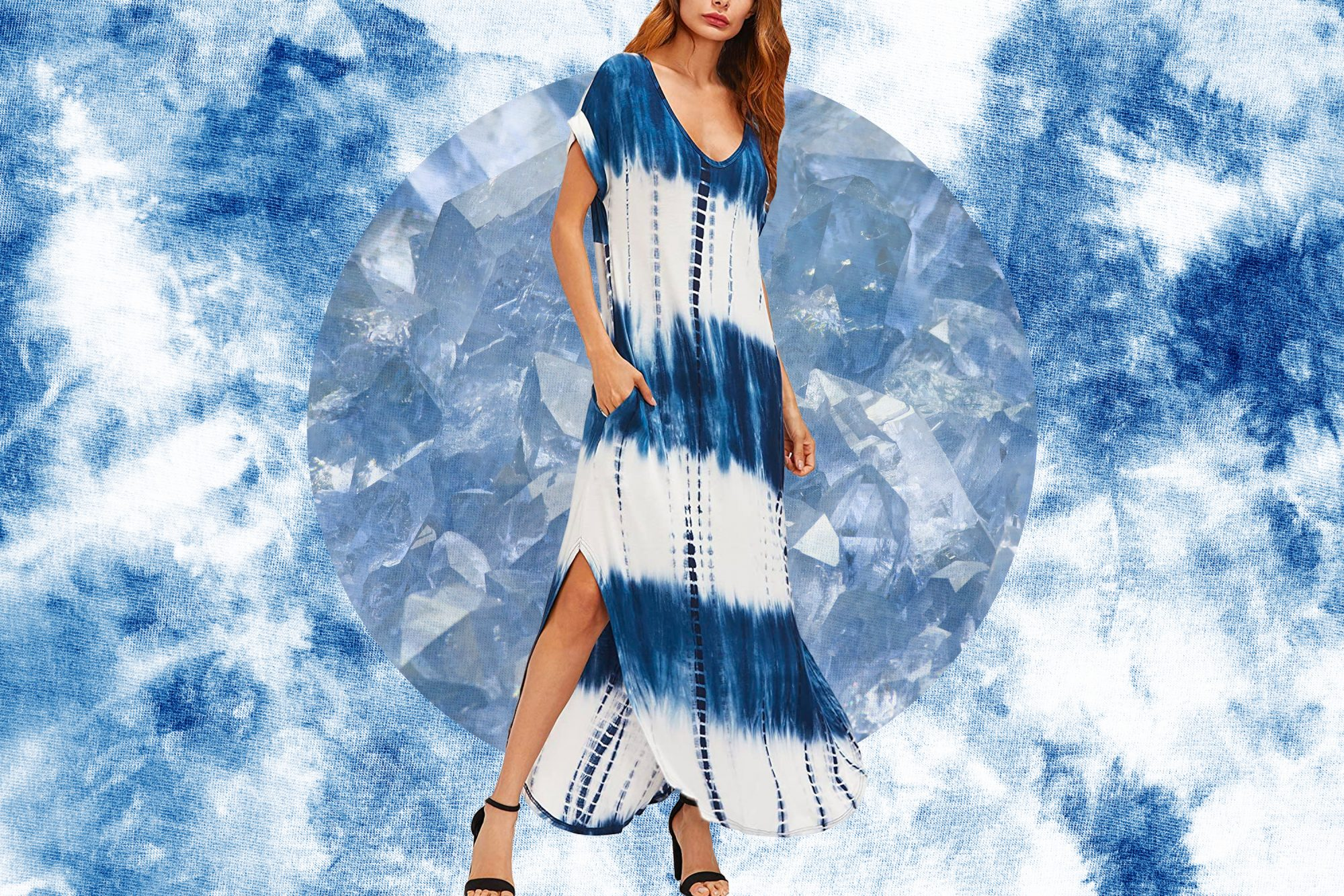 This Tie-Dye Maxi Dress Is About to Become Your Late Summer Uniform