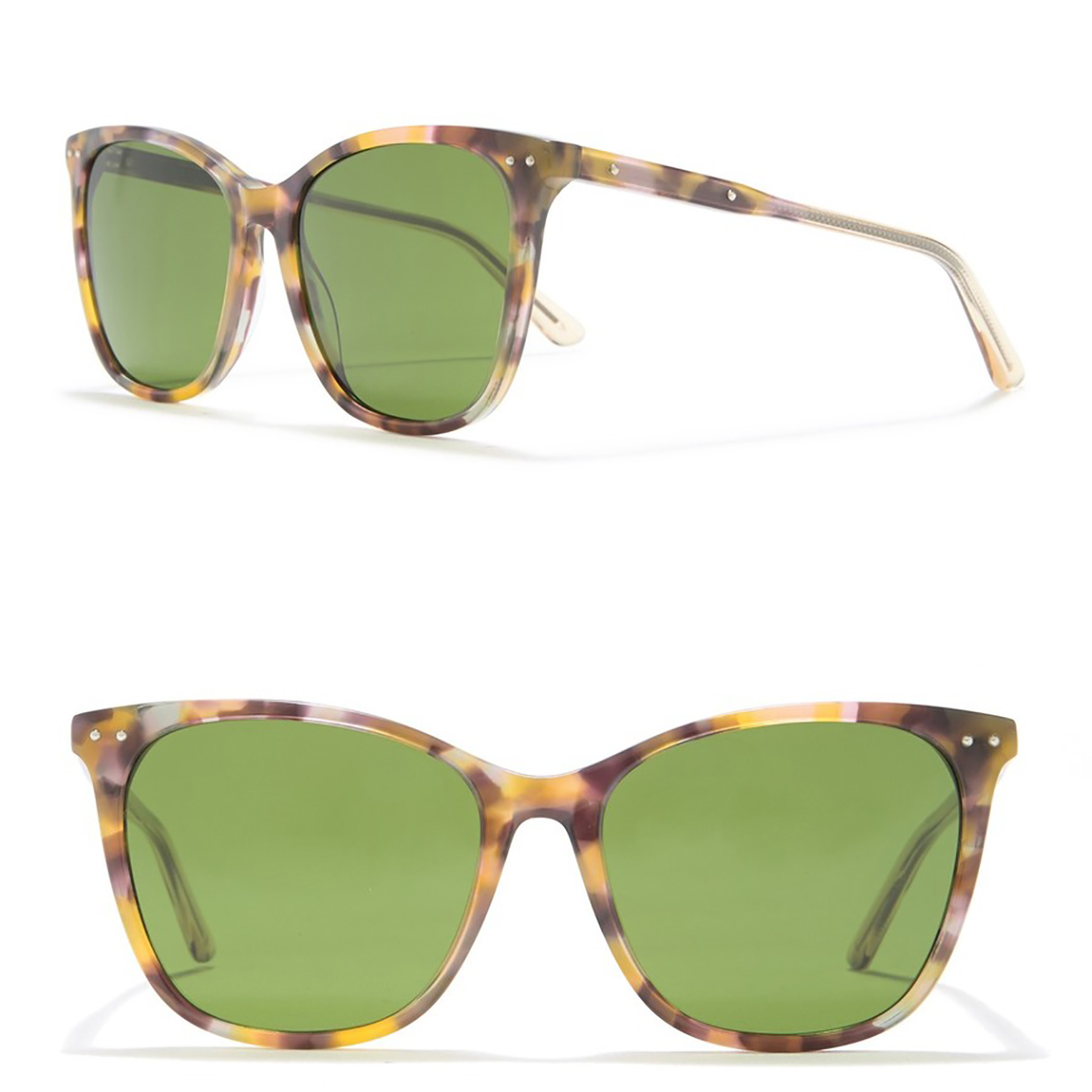 Bottega Veneta 55mm Square Sunglasses