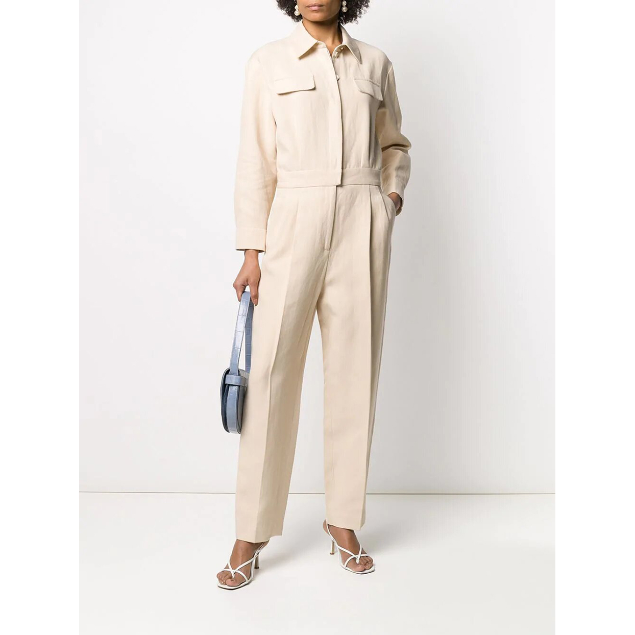 Sandro Paris aviator style jumpsuit