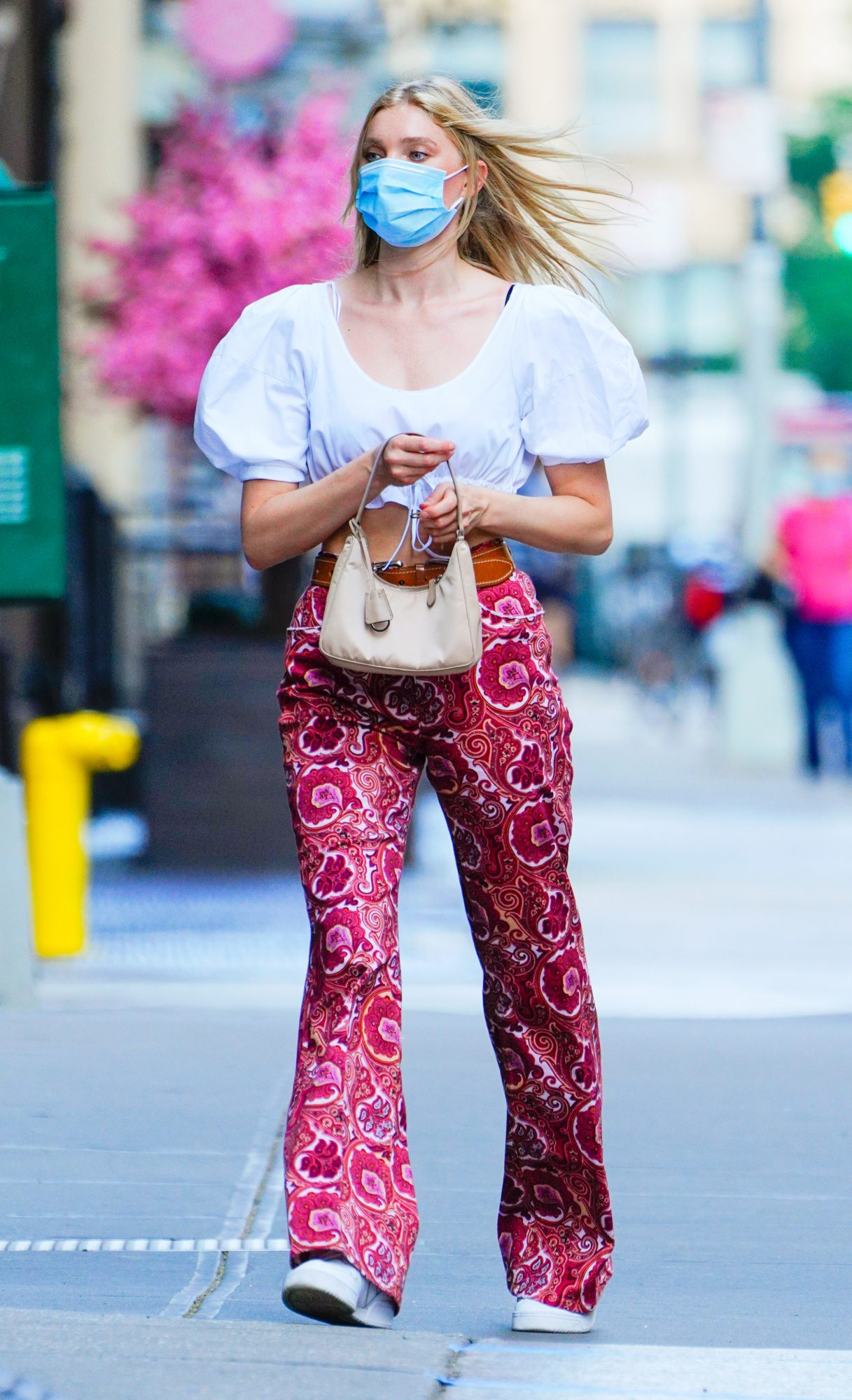 Controversial Paisley Pant Trend